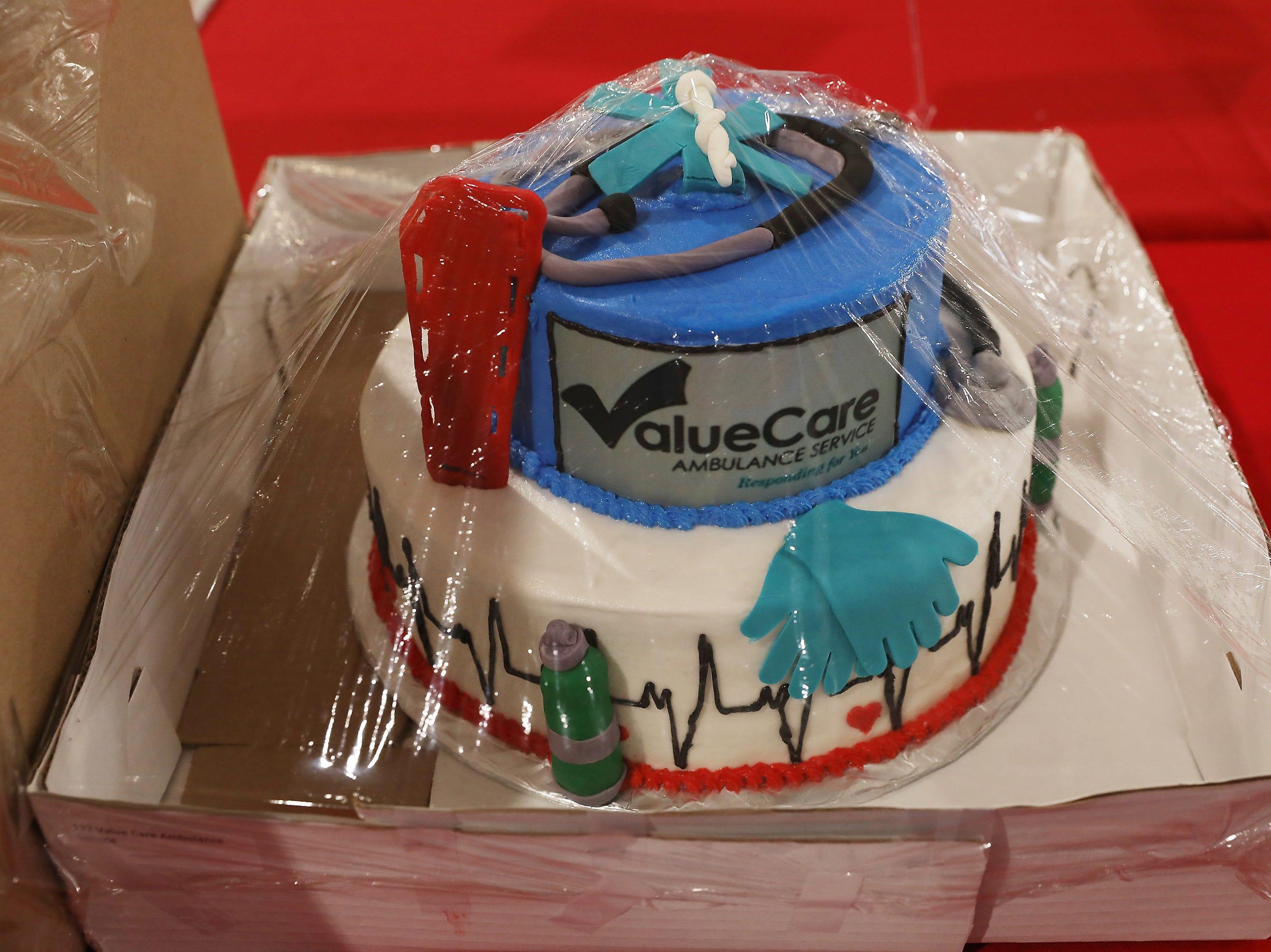 2:30 P.M. Thursday cake 132 Value Care Ambulance Service - $200 Southwest gift card
