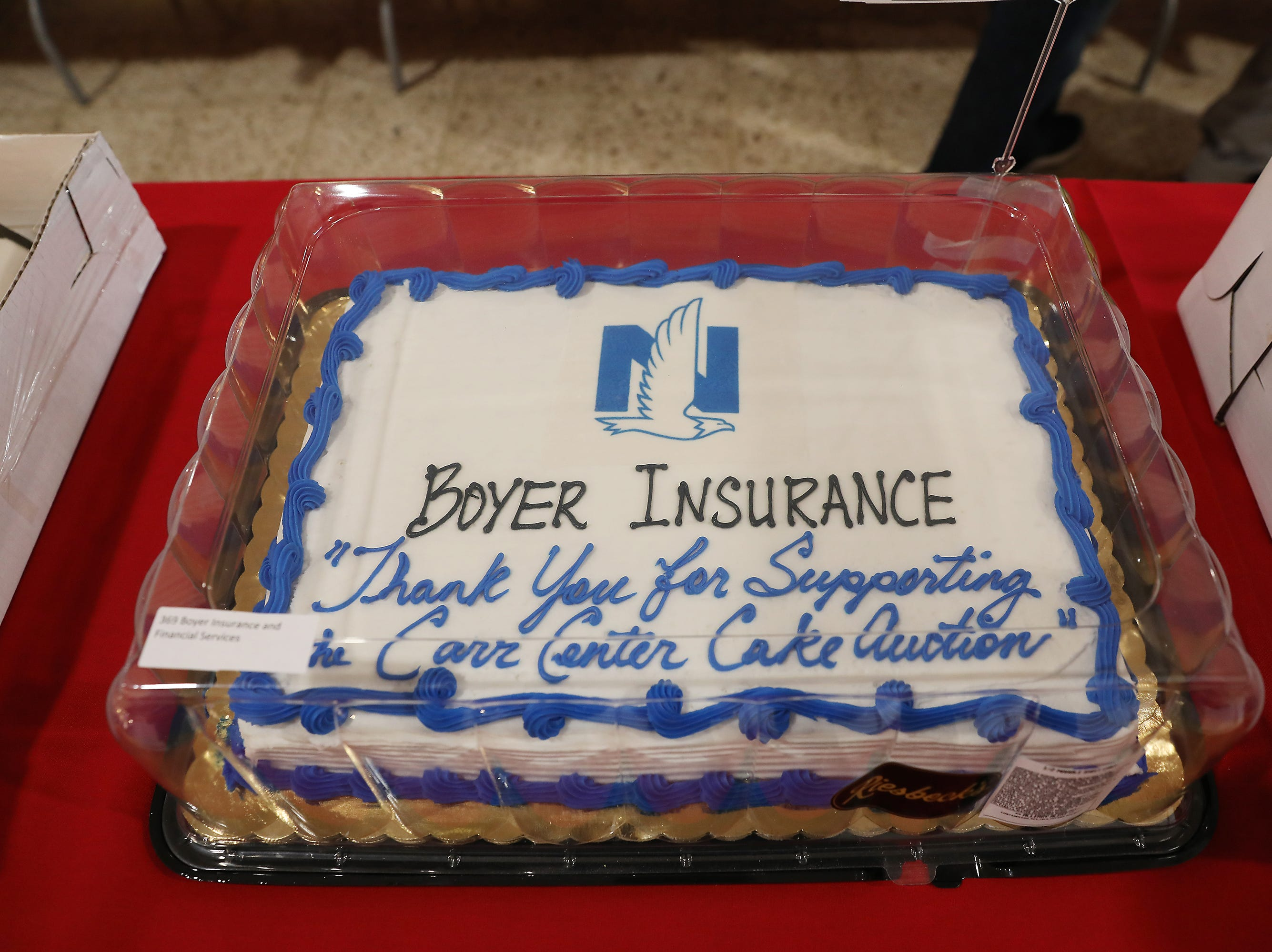 3:45 P.M. Friday cake 369 Boyer Insurance and Financial Services - 2 tickets to the Buckeye Country Superfest June 8, at the Ohio Stadium; $370