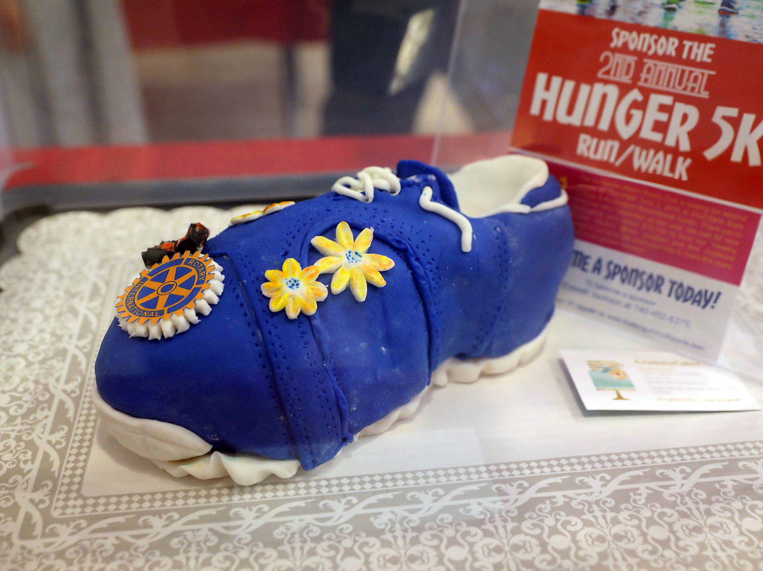 3:30 P.M. Friday cake 362 Noon Rotary Club - 4 entries to Rotary Hunger 5K June 2; $120