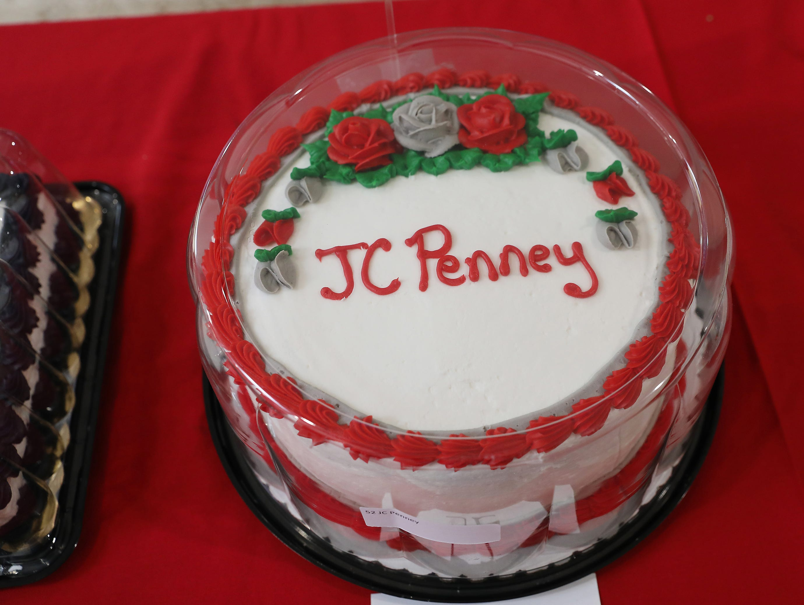 10:15 A.M. Thursday cake 52 JC Penney - Ohio State caps, drinking glasses, 3 LEGO sets; $200