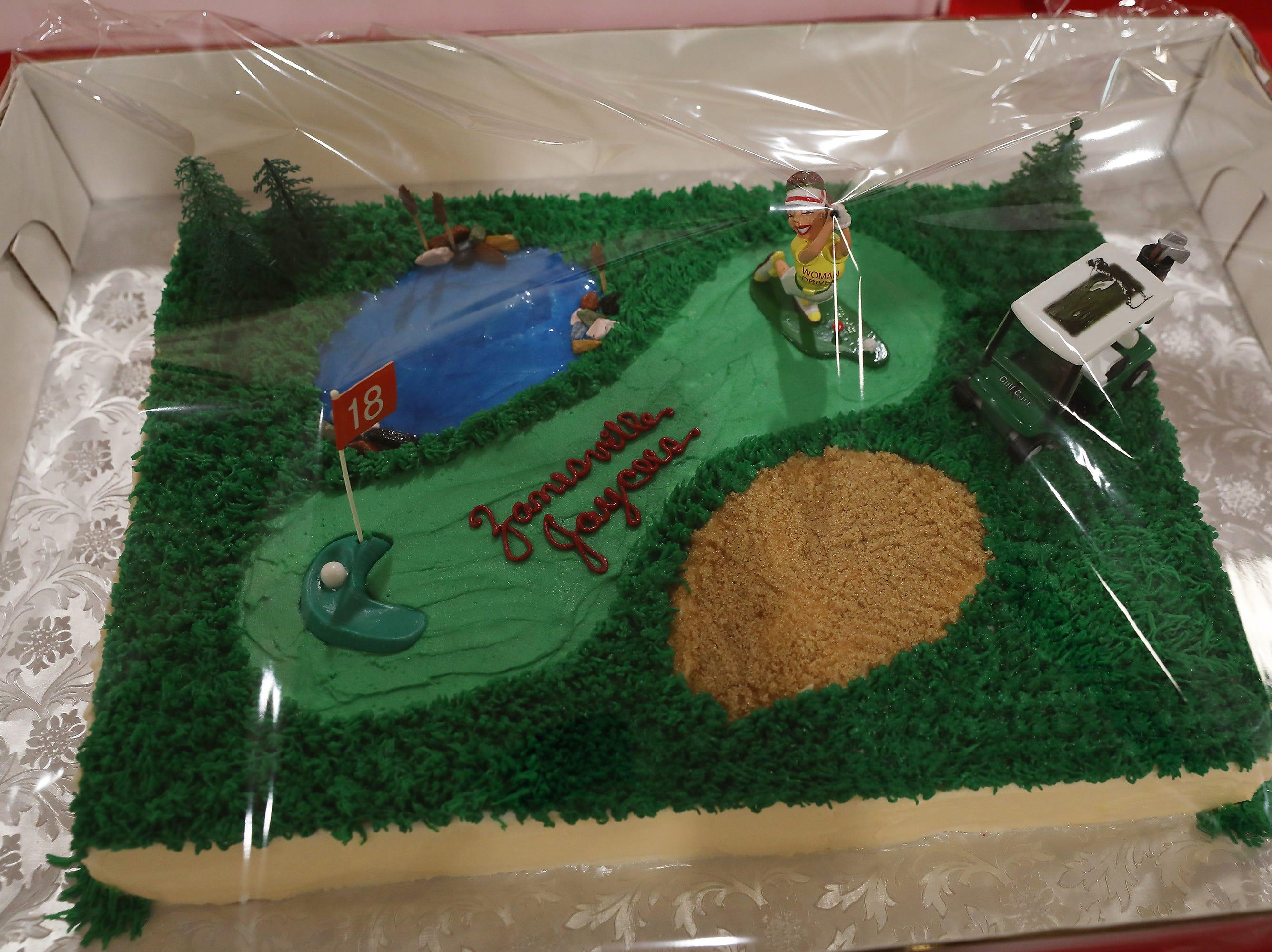 1:45 P.M. Thursday cake 114 Zanesville Jaycees Golf Club - Driver, 2 rounds of golf; $550