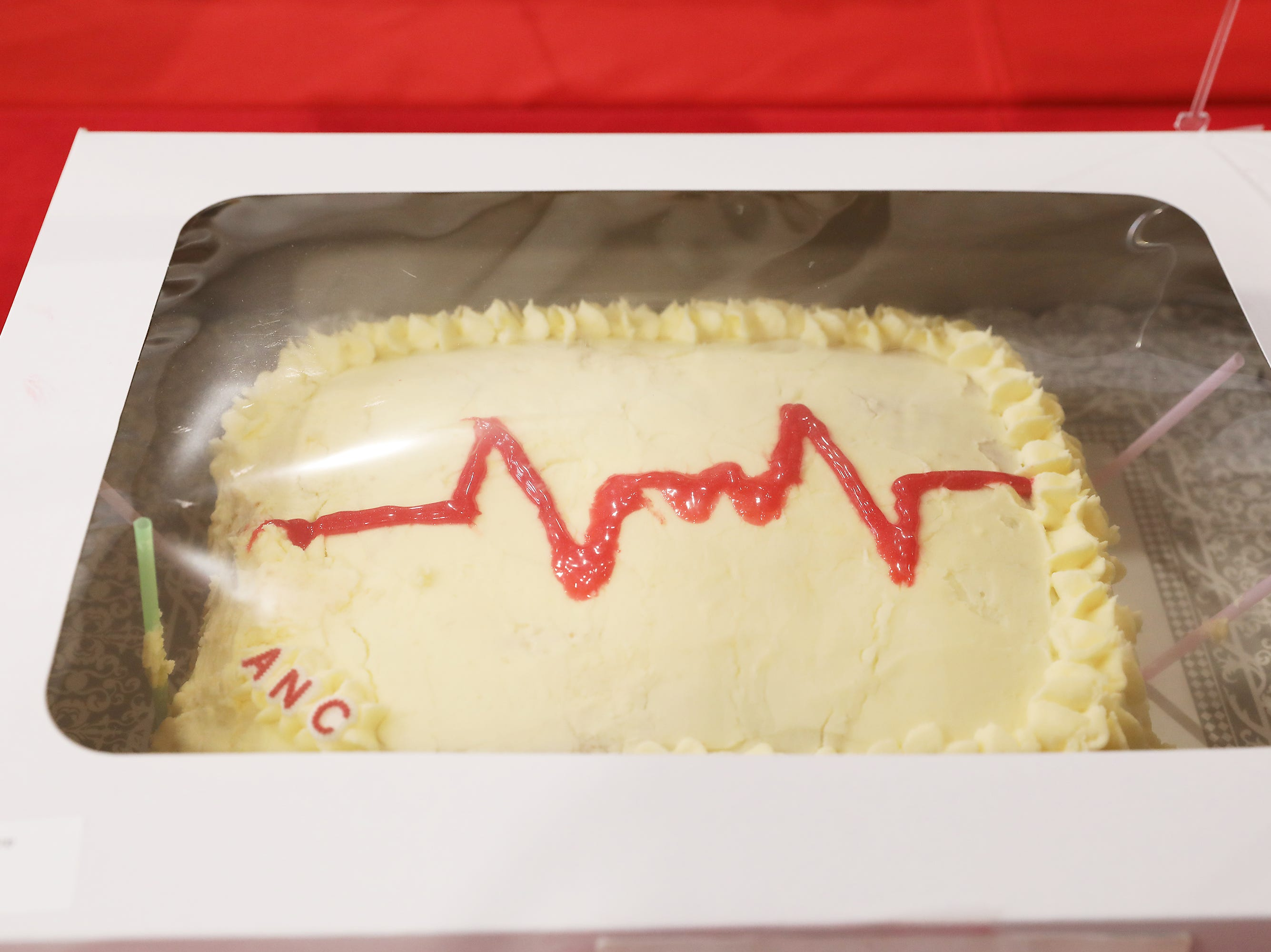 10:15 A.M. Friday cake 259 Acute Nursing Care - BP Gas gift card, Casa Bella gift card, Shoe Carnival gift card, The Children's Place gift card, Rue 21 gift card; $75