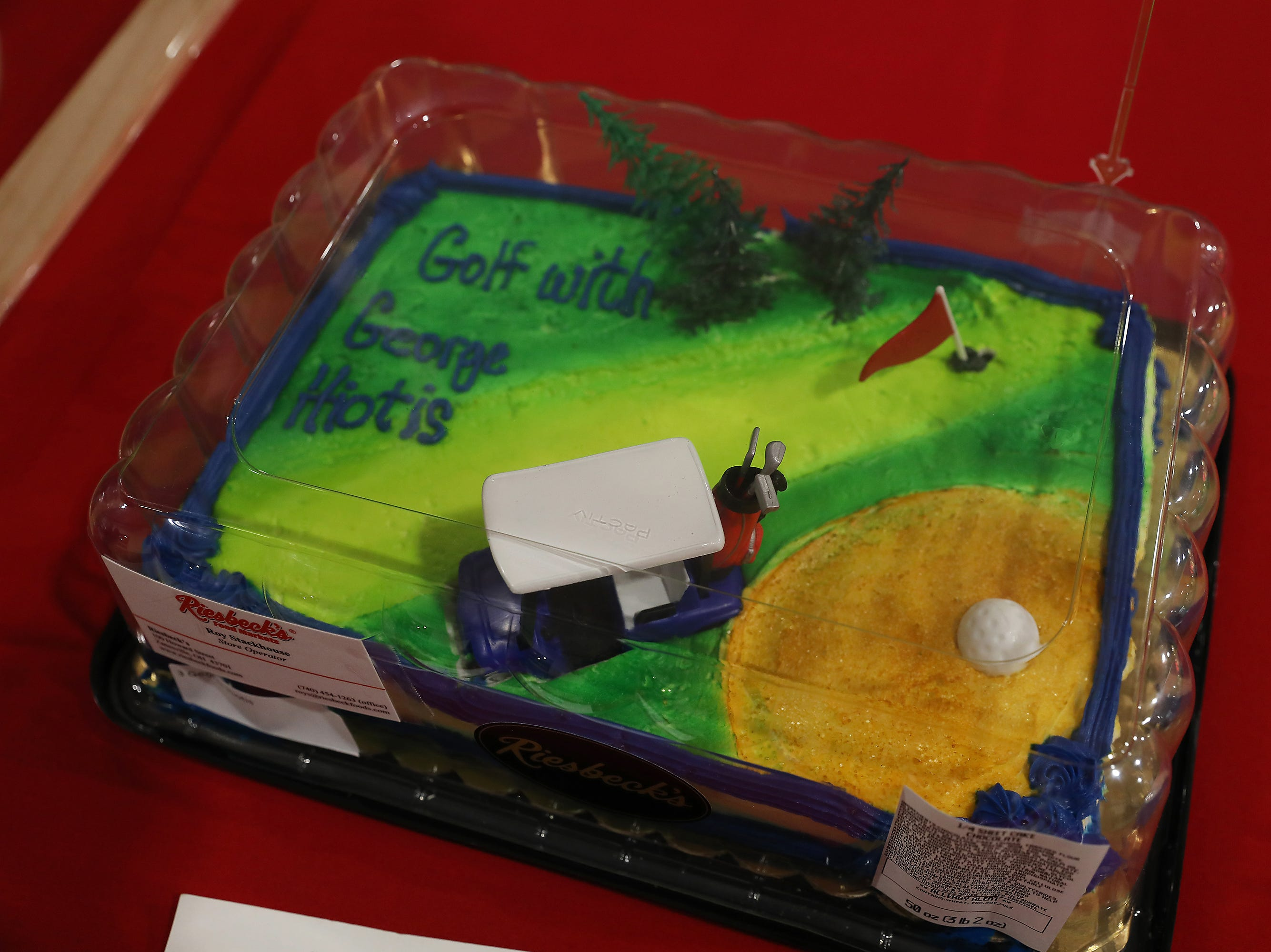 8:15 A.M. Thursday Cake 3 George Hiotis - Golf with George