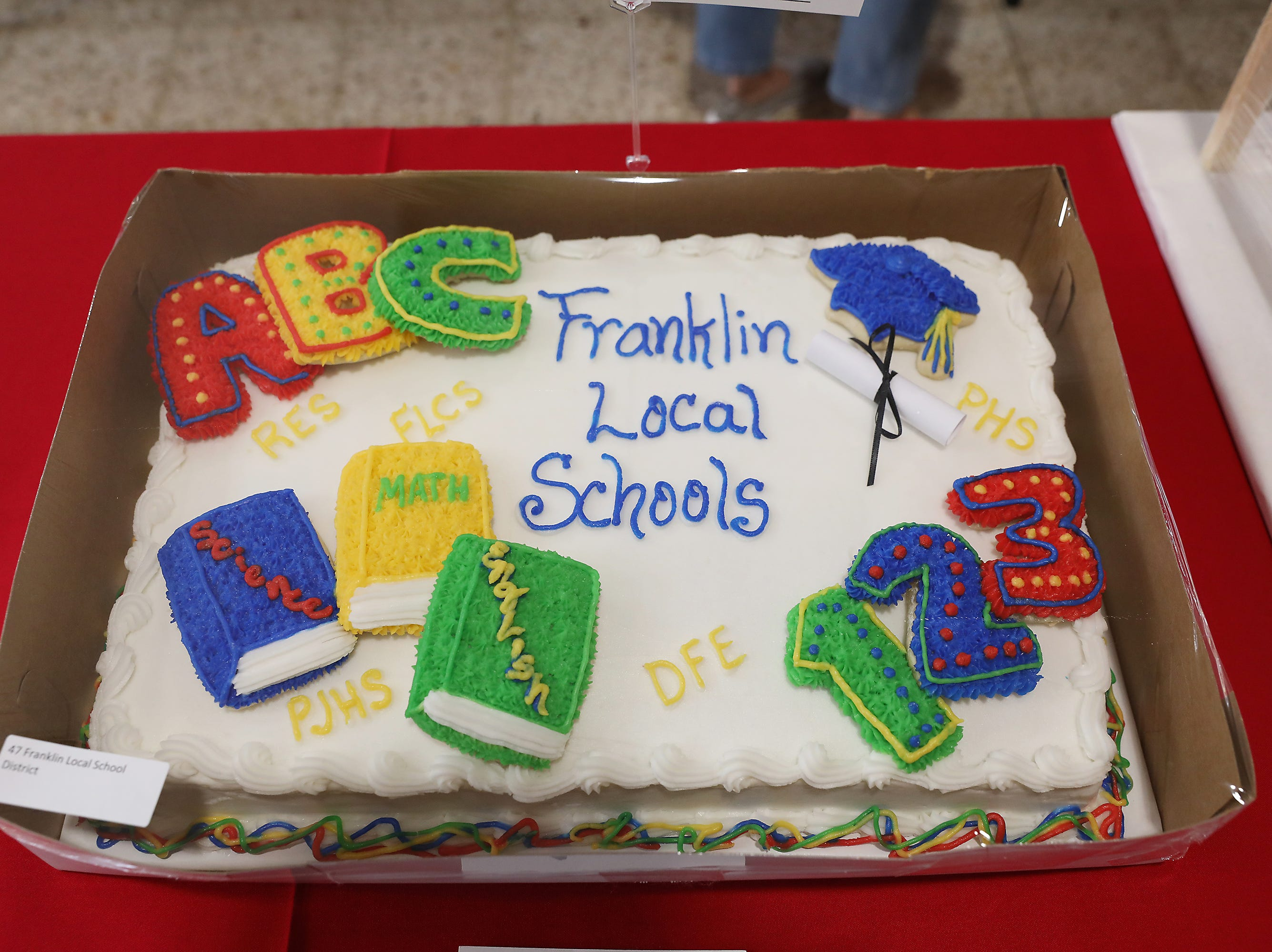 10:15 A.M. Thursday cake 47 Franklin Local School District