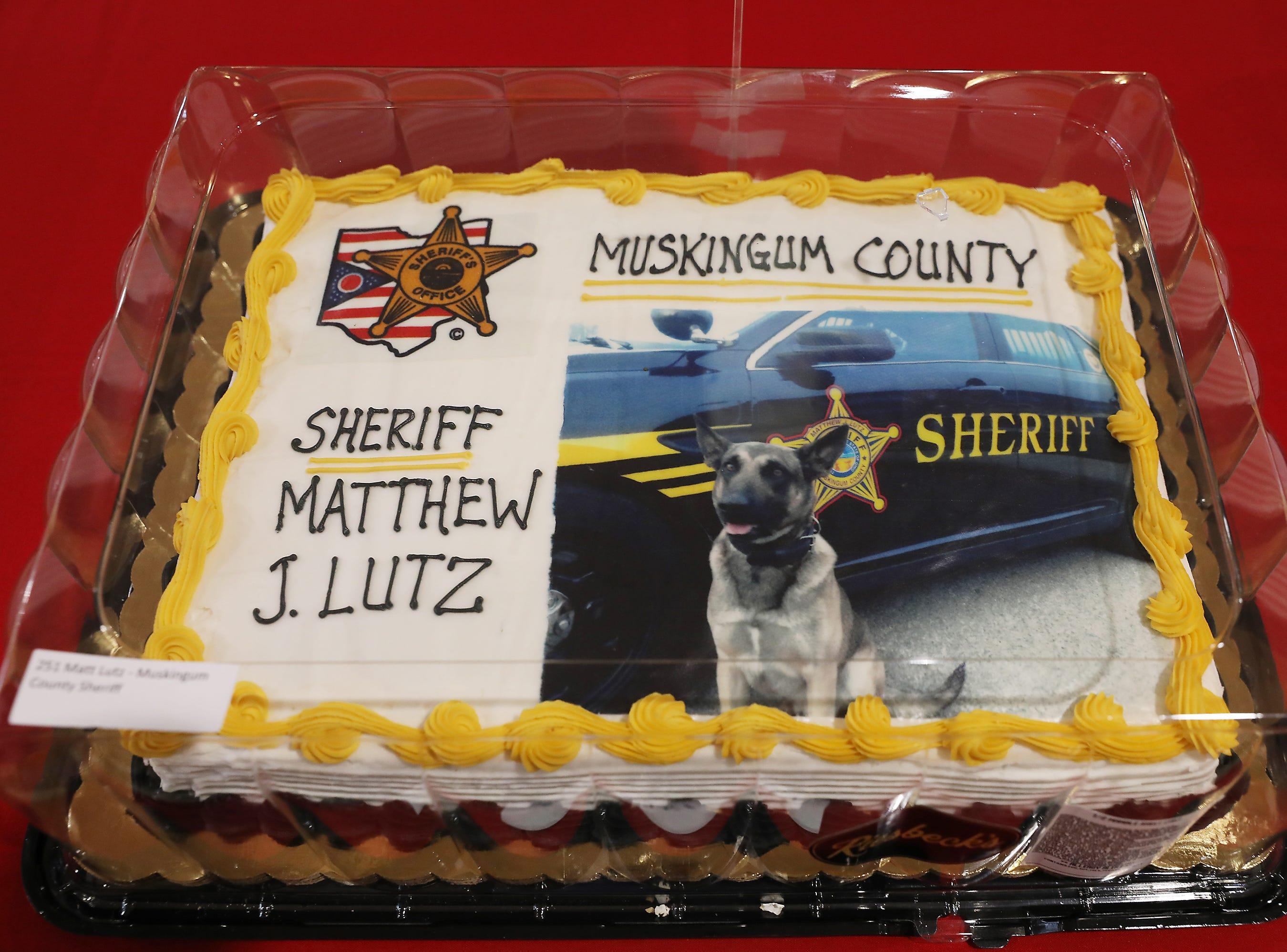 10 A.M. Friday cake 251 Matt Lutz Muskingum County Sheriff - ride to school with a deputy.