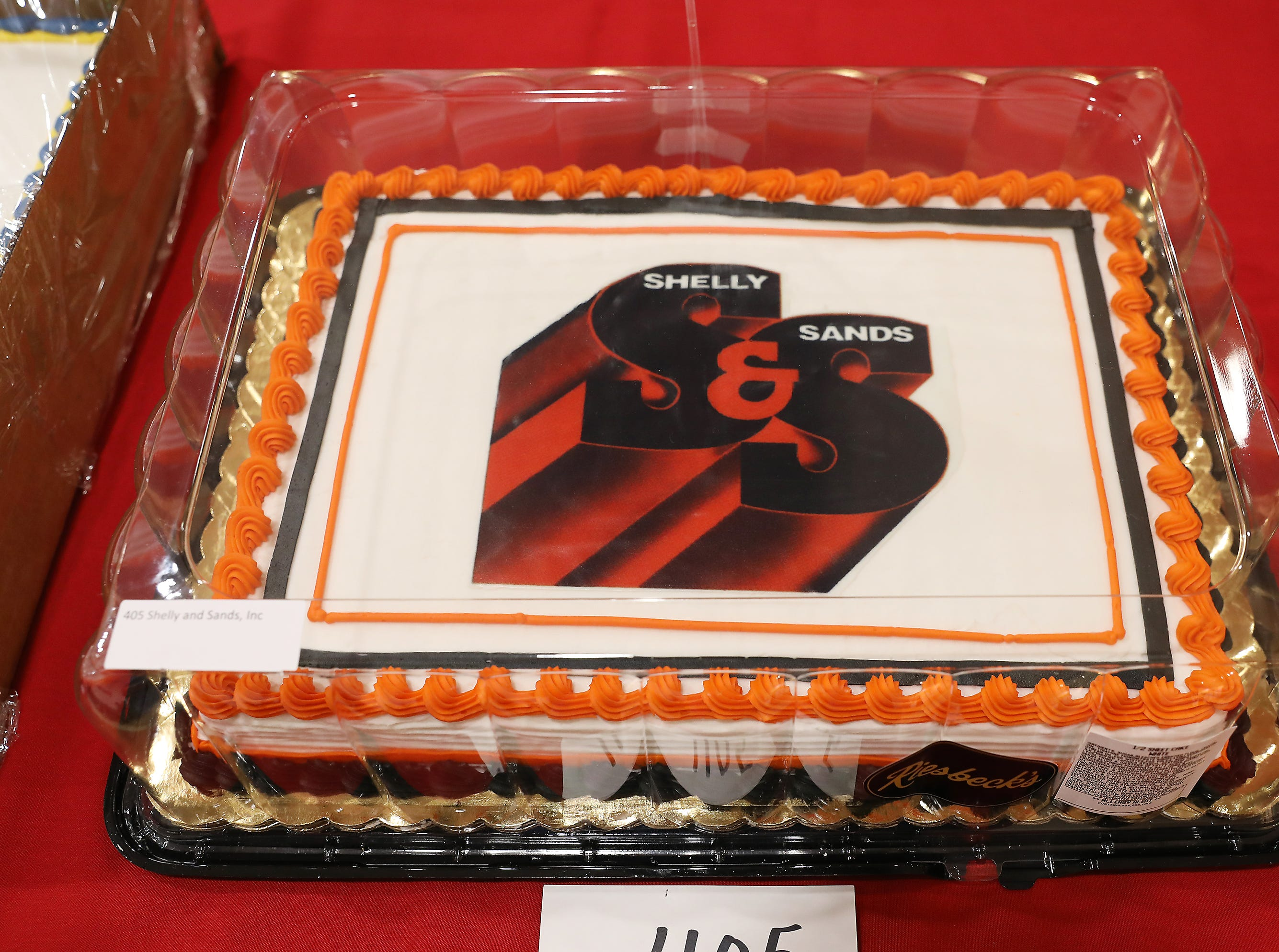 5:30 P.M. Friday cake 405 Shelly and Sands - $100 gift cards to The Barn, Muddy Miser's, Longhorn, Eaglesticks, Adornettos