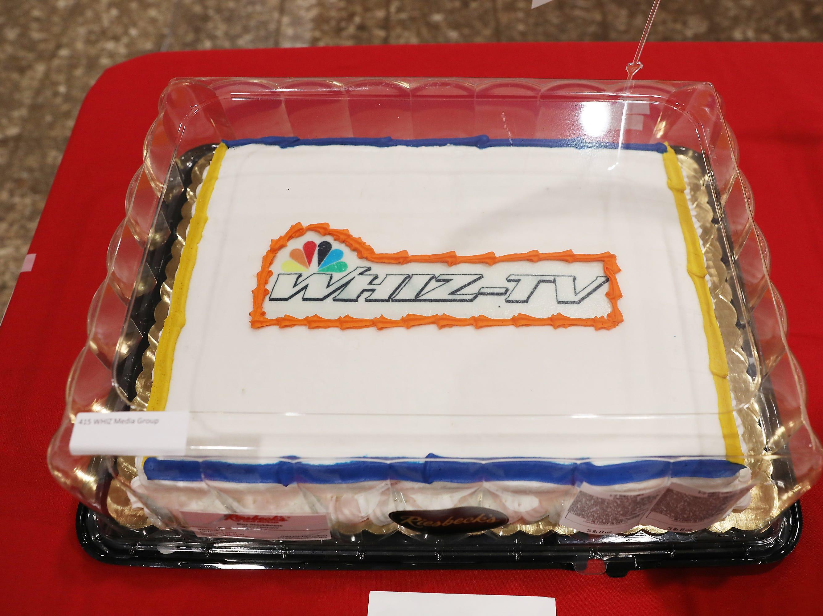 5:45 P.M. Friday cake 415 WHIZ Media Group - $1,000 TV, $1,000 radio advertising.