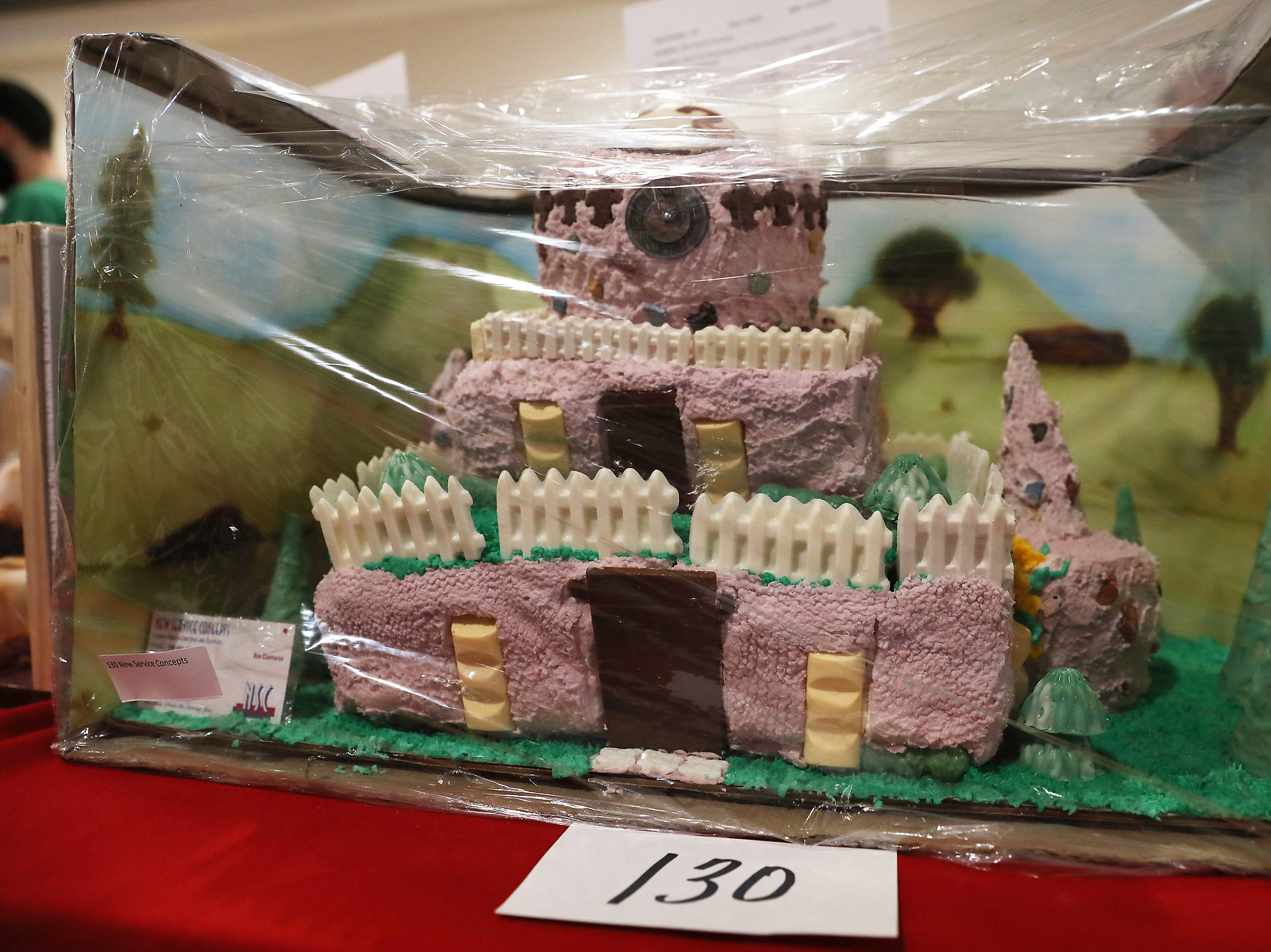 2:30 P.M. Thursday cake 130 New Service Concepts - Stihl weed eater and leaf blower; $390