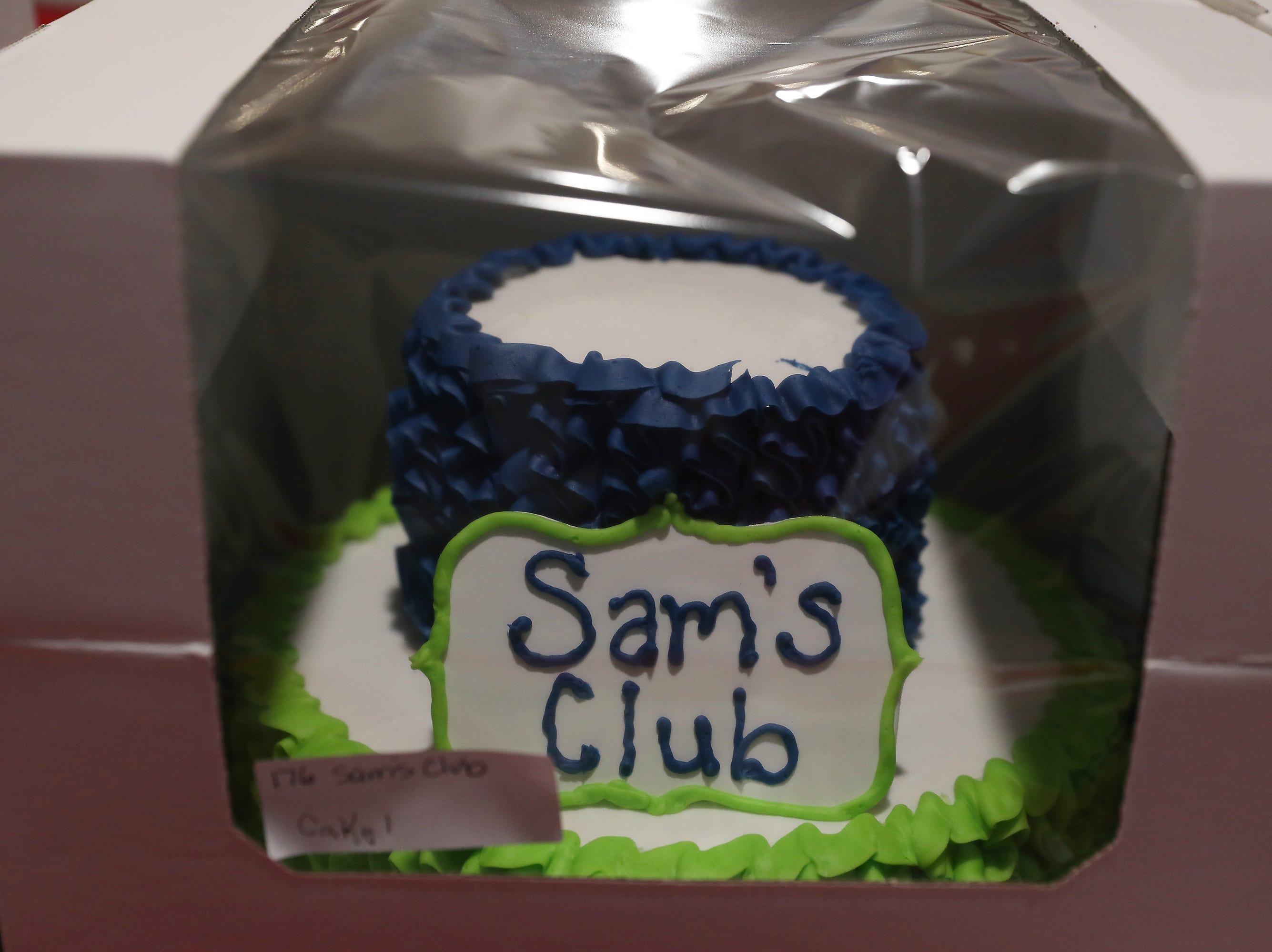 4:30 P.M. Thursday cake 176 Sam's Club - Mini Bike, gas powered, Coleman CT200U; $449 2 of 2 cakes.