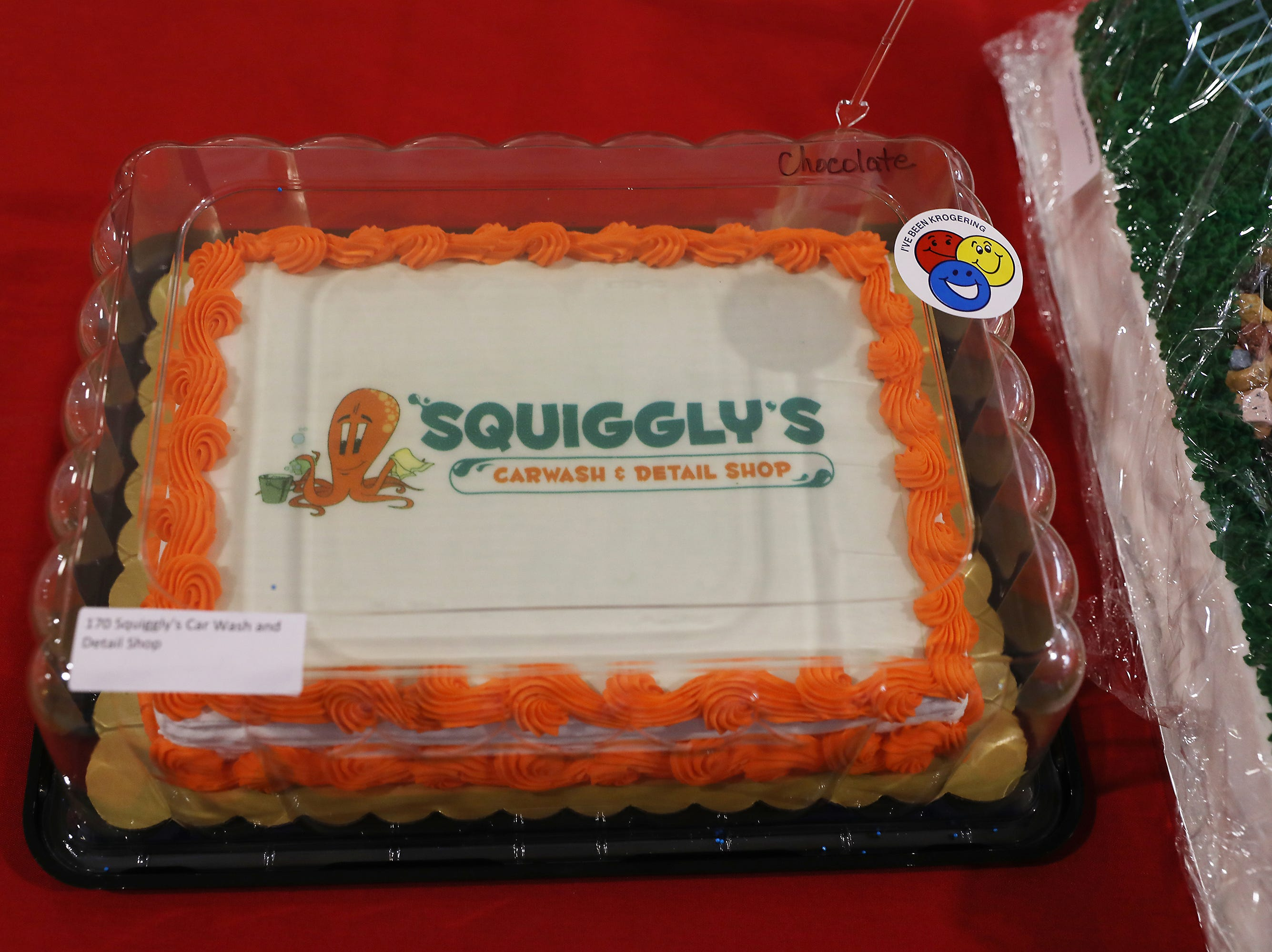 4:15 P.M. Thursday cake 170 Squiggly's Car Wash - Complete detail; $215