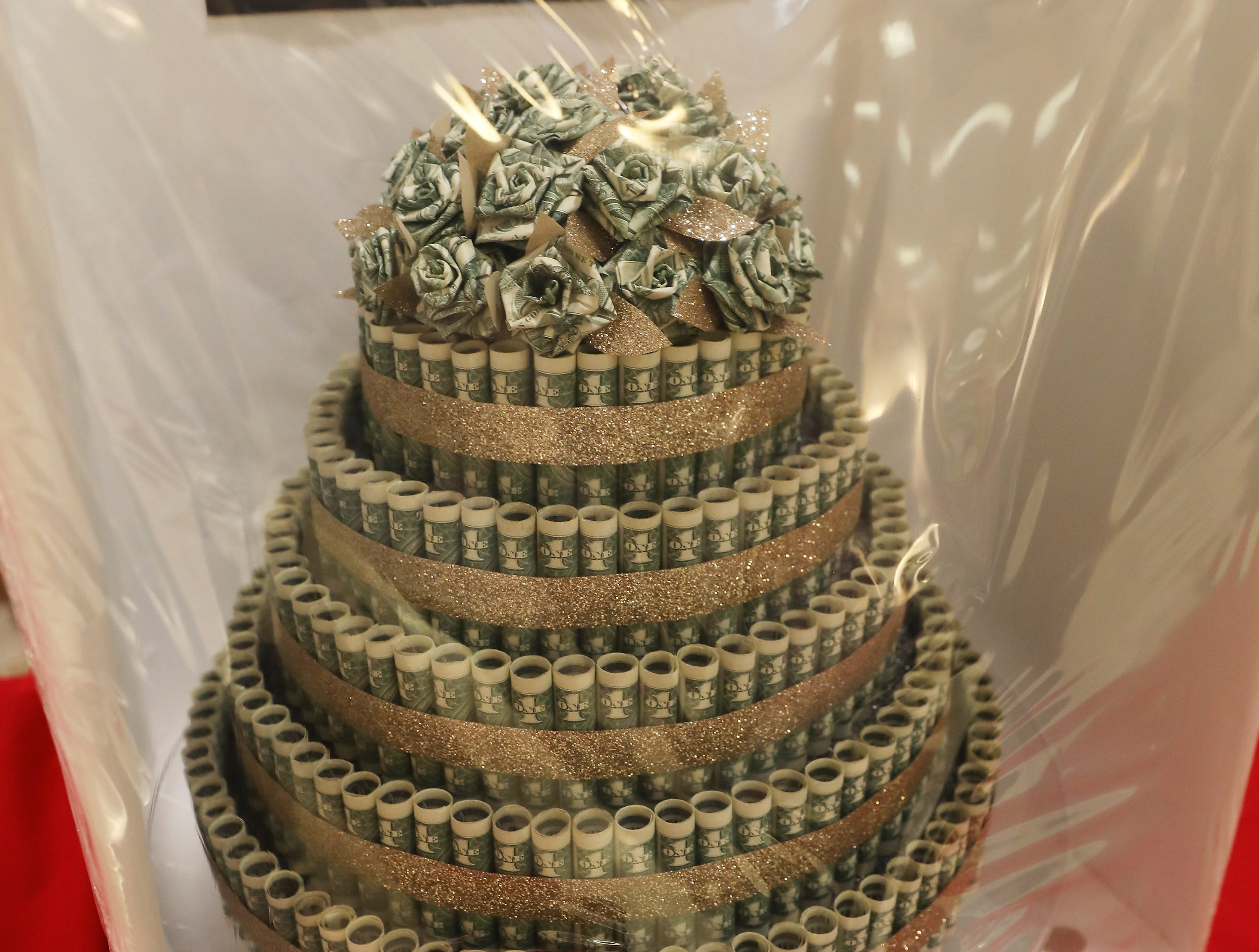4:45 P.M. Friday cake 391 North Valley Bank - bottle of Dom Perignon; $755