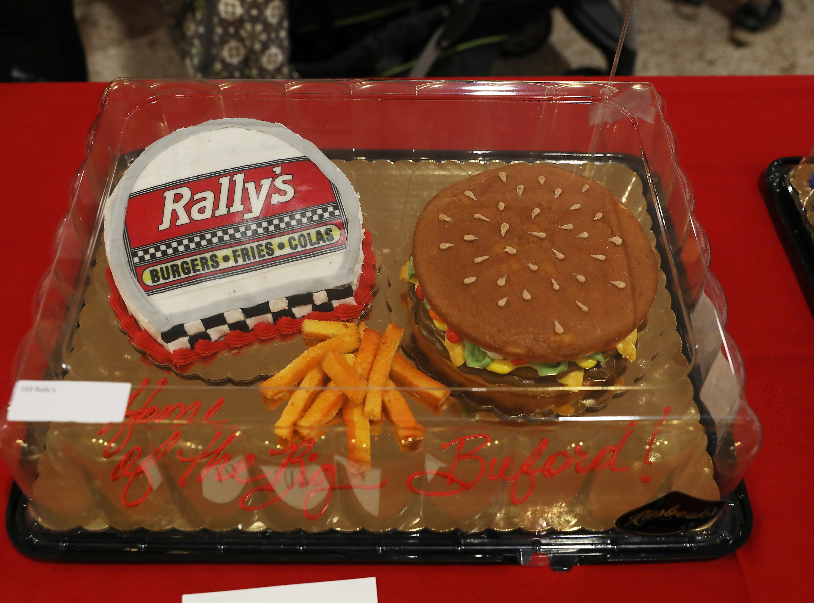 5:15 P.M. Thursday cake 193 Rally's - 12 combos