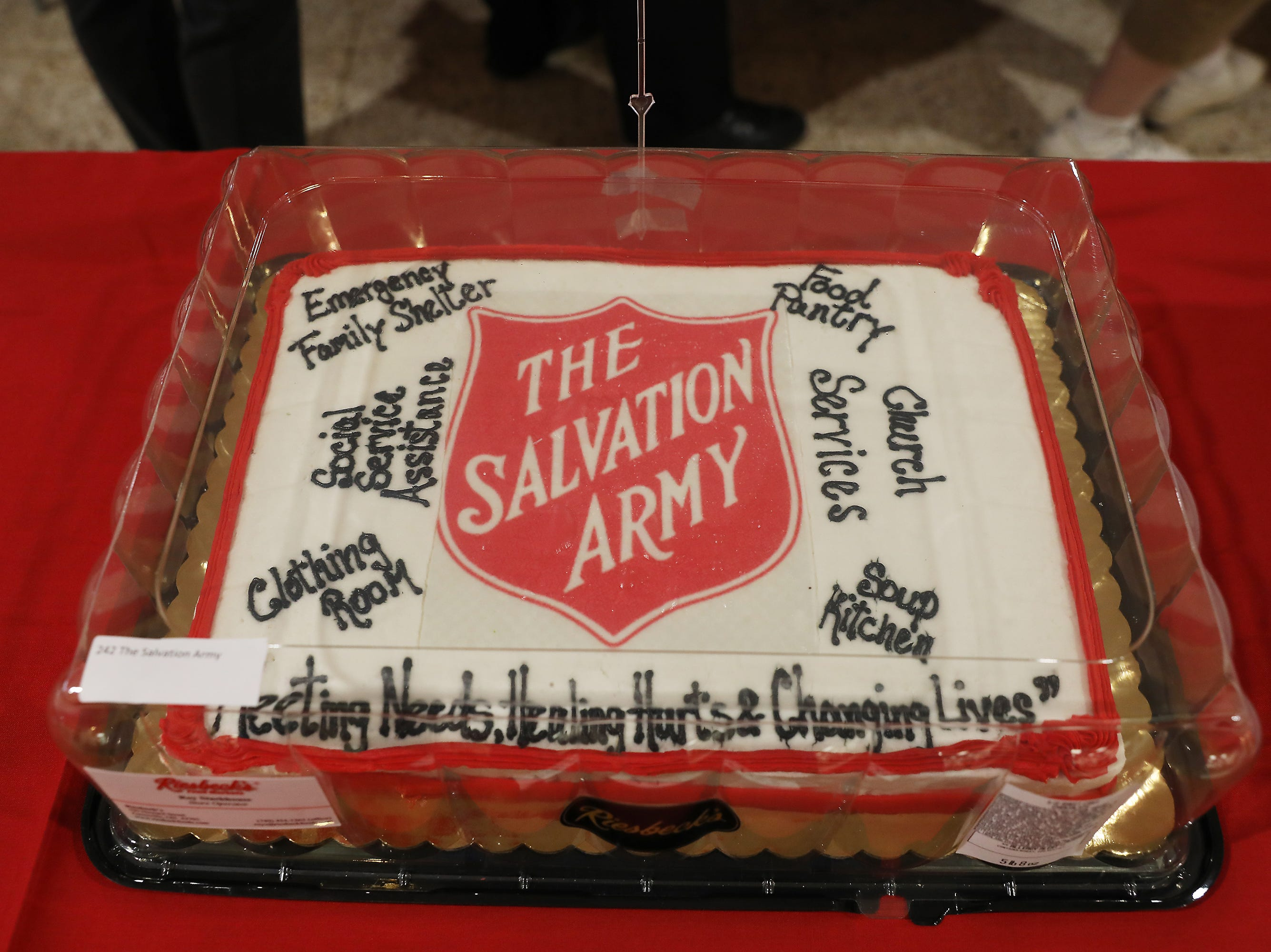 9:30 A.M. Friday cake 242 The Salvation Army