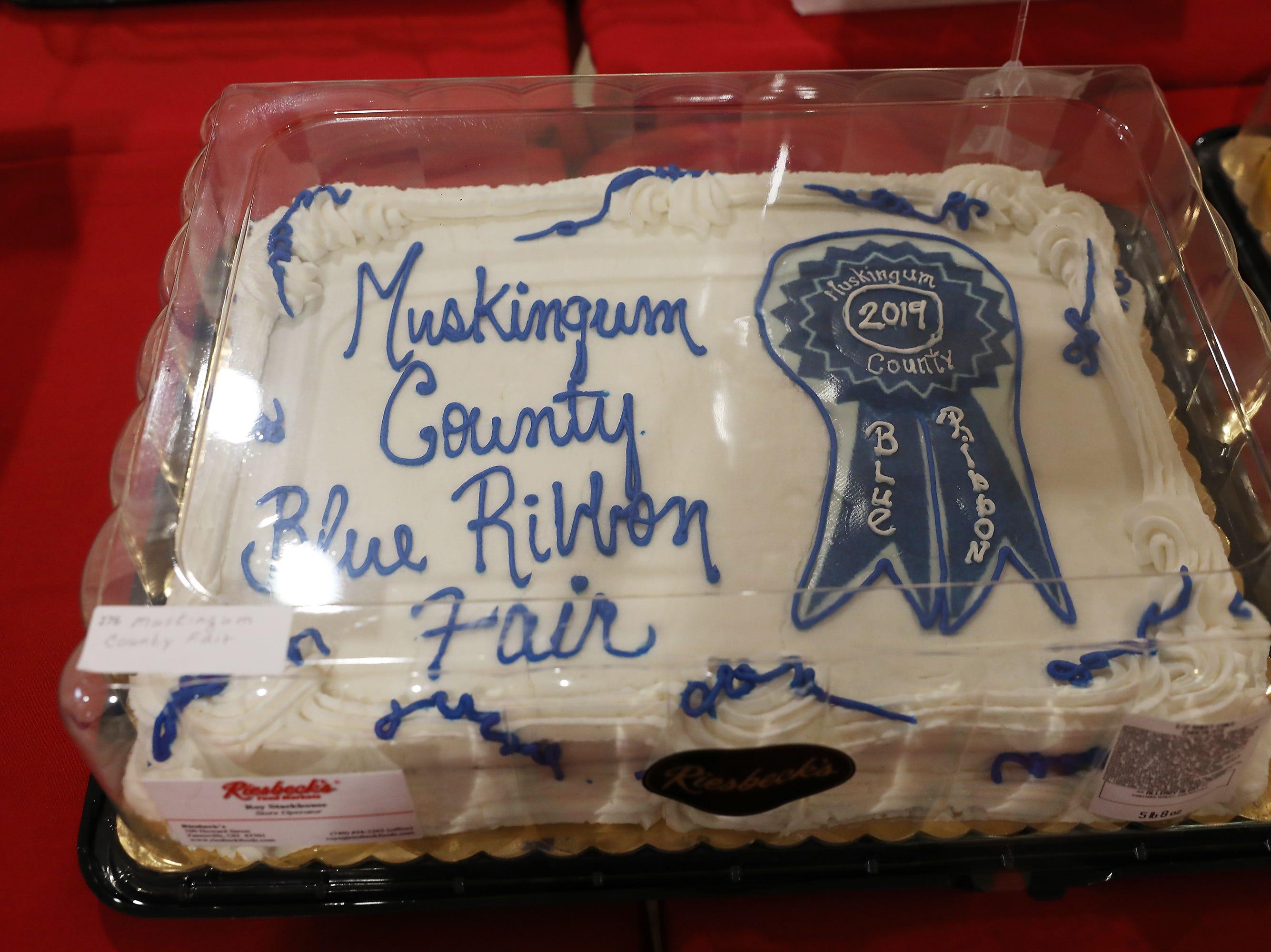 11 A.M. Friday cake 276 Muskingum County Fair.