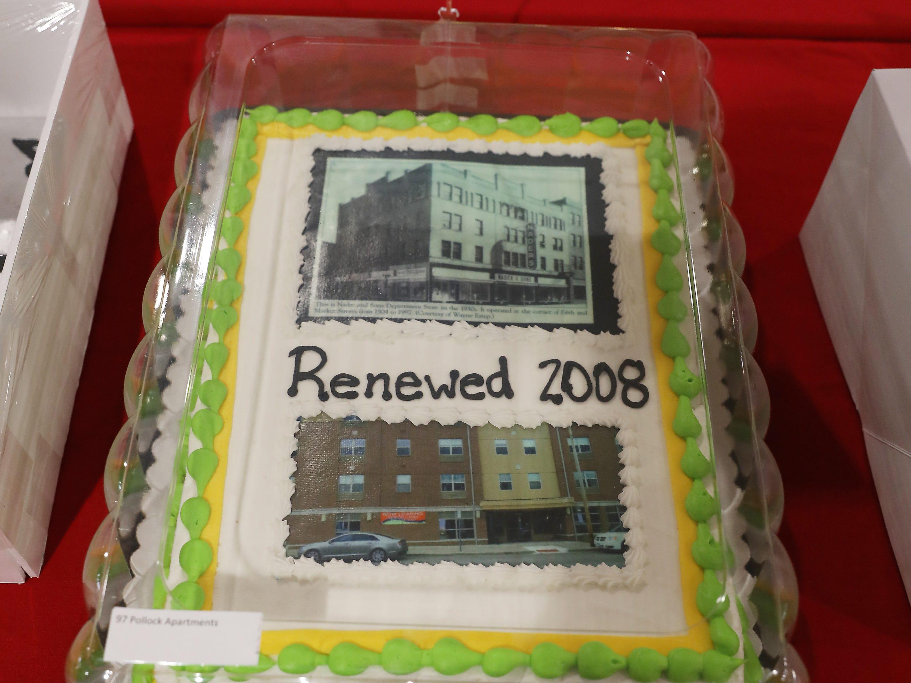 1:00 P.M. Thursday cake 97 Pollock Apartments