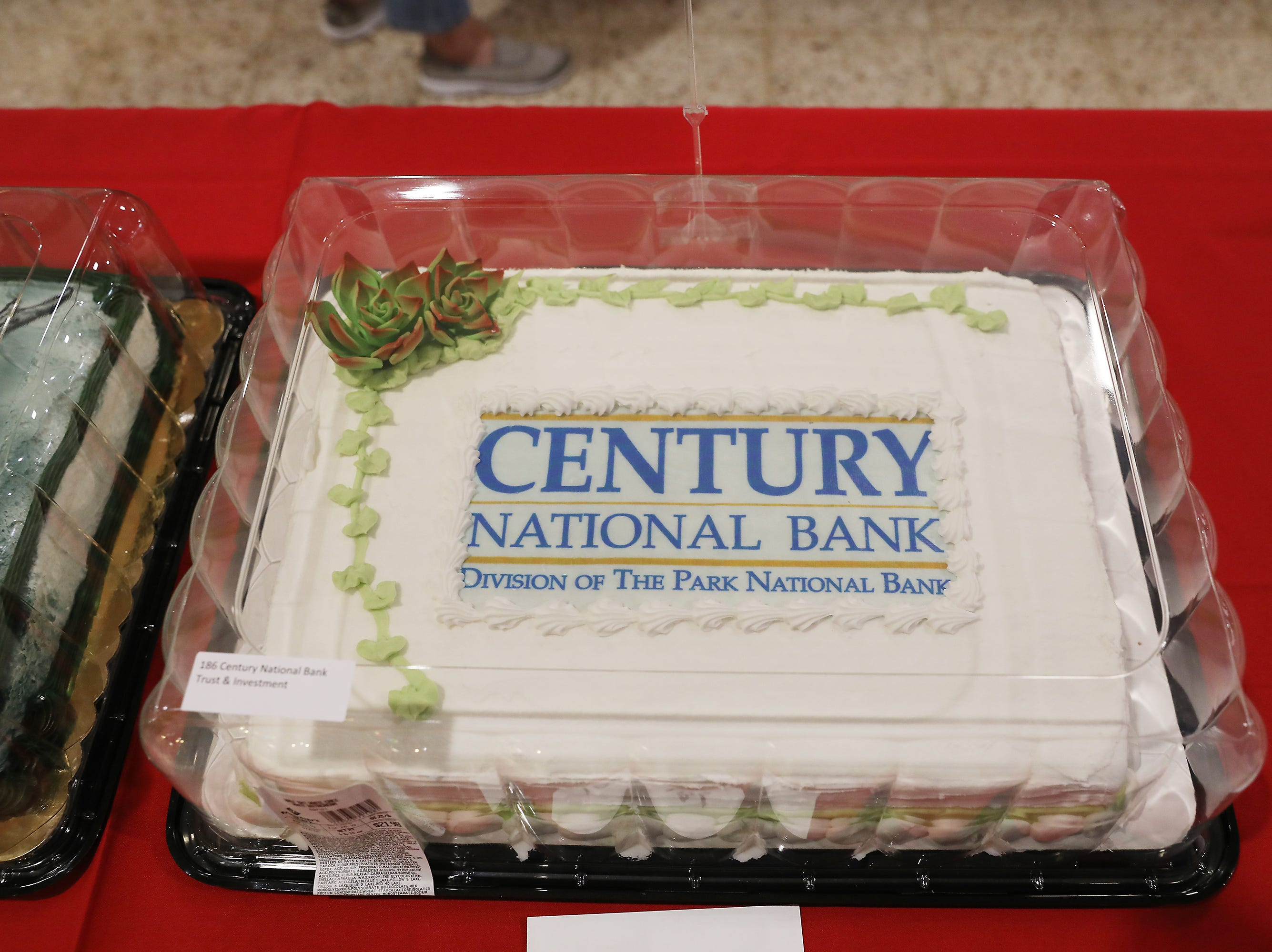 5:00 P.M. Thursday cake 186 Century National Bank Trust & Investment - 2  center orchestra seats to Les Miserables on November 21; $200