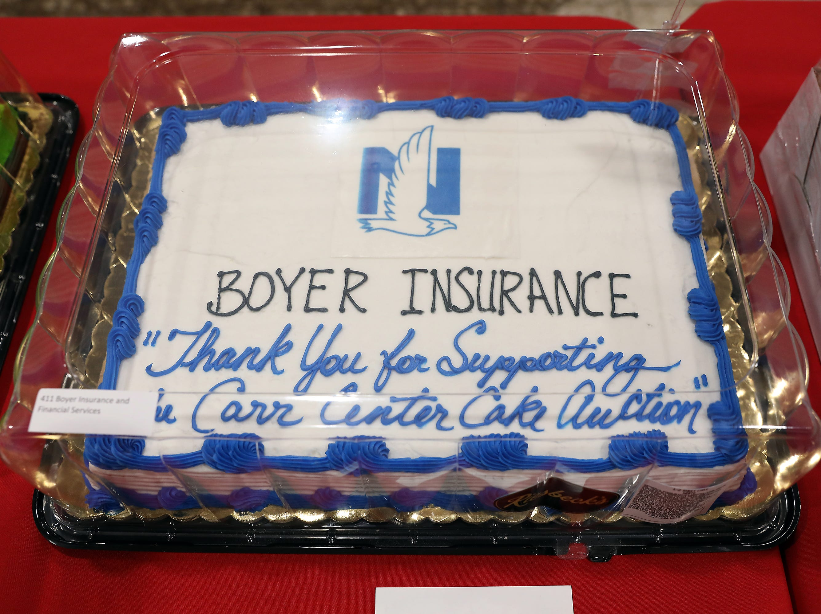 5:45 P.M. Friday cake 411 Boyer Insurance and Financial Services - 1 week at A Place At The Beach - Atlantic Beach III, June 23-30