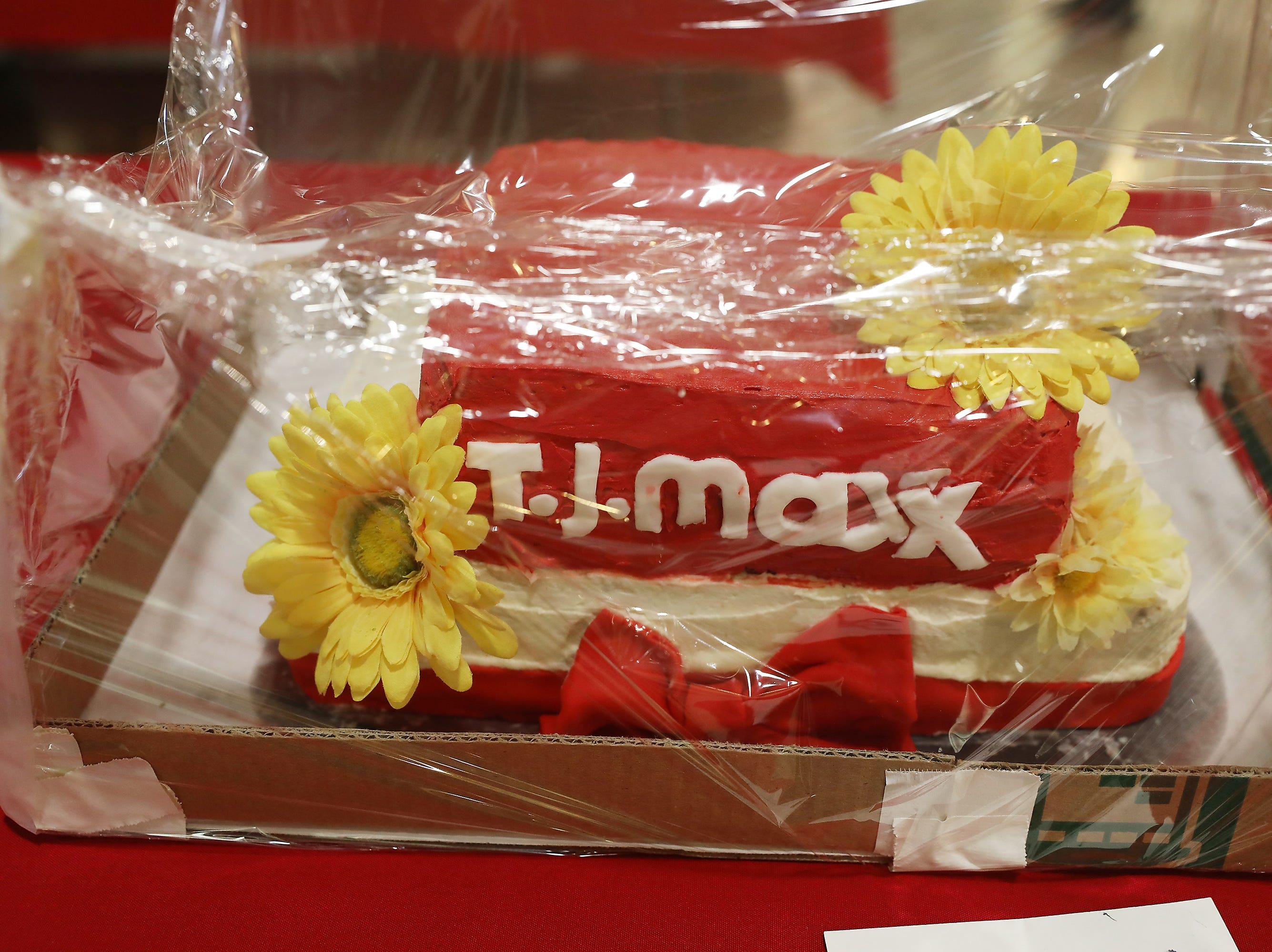 9:15 A.M. Friday cake 235 TJ Maxx - $100 TJ Maxx gift card