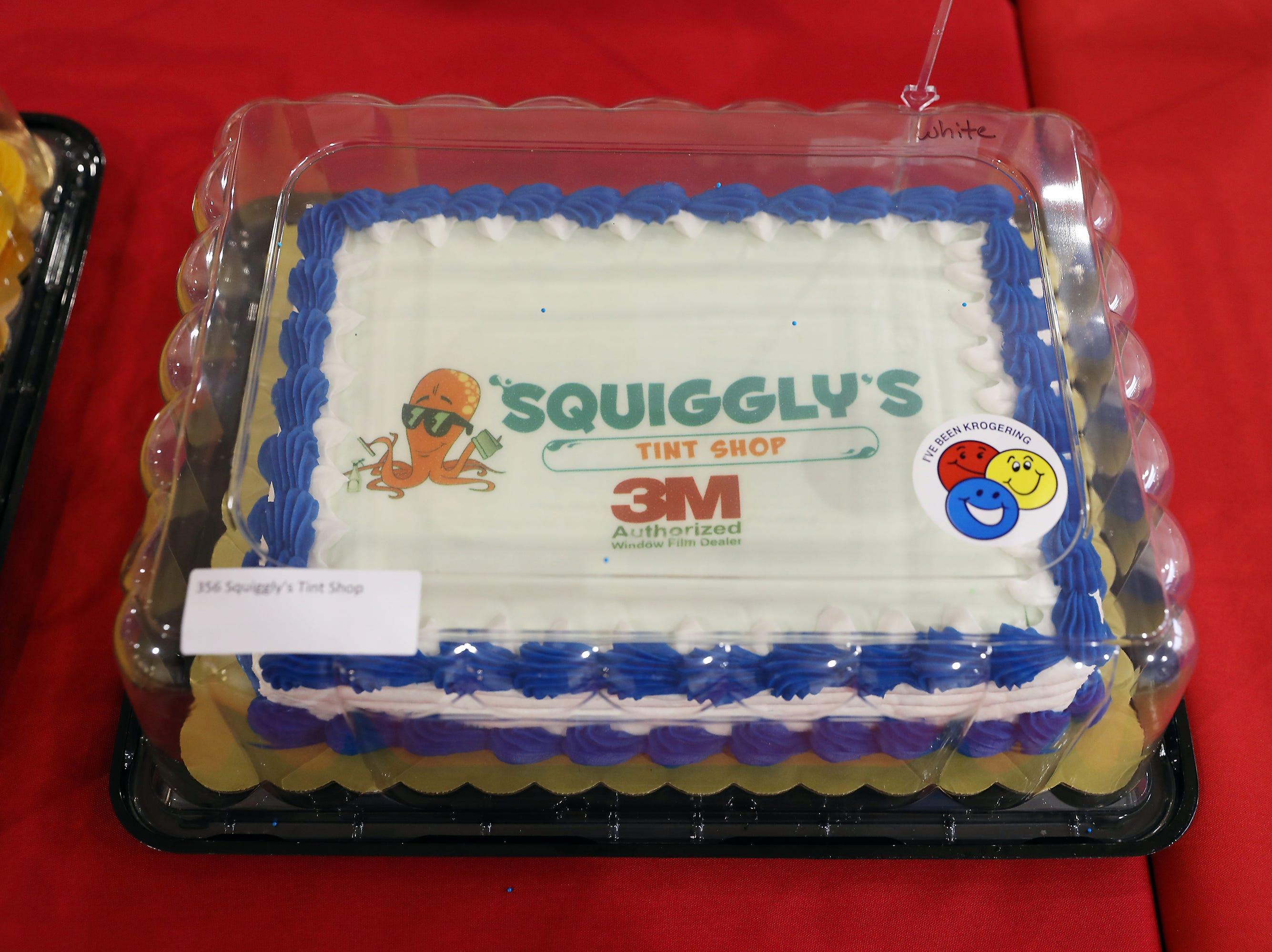 3:15 P.M. Friday cake 356 Squiggly's Tint Shop - 3M FX premium tint; $245