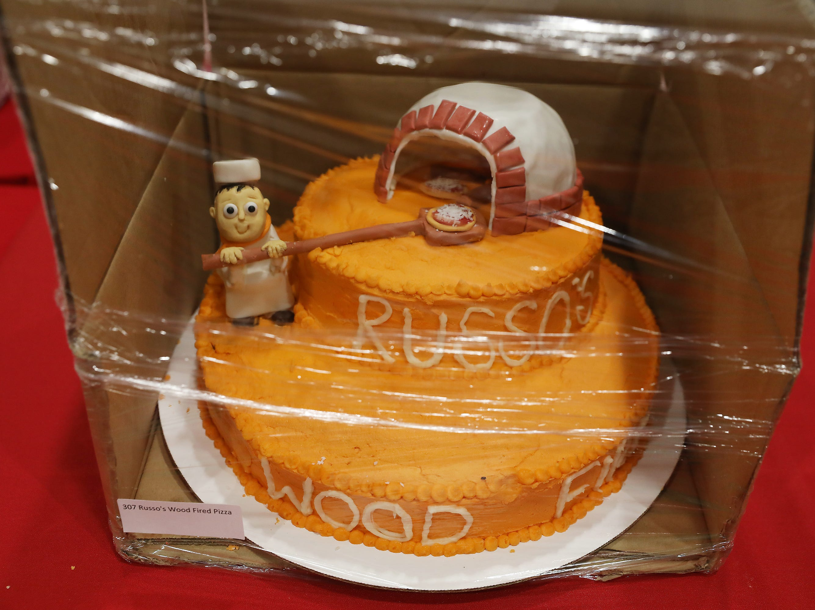 1:15 P.M. Friday cake 307 Russo's Wood Fired Pizza - 2 $25 Russo's gift cards