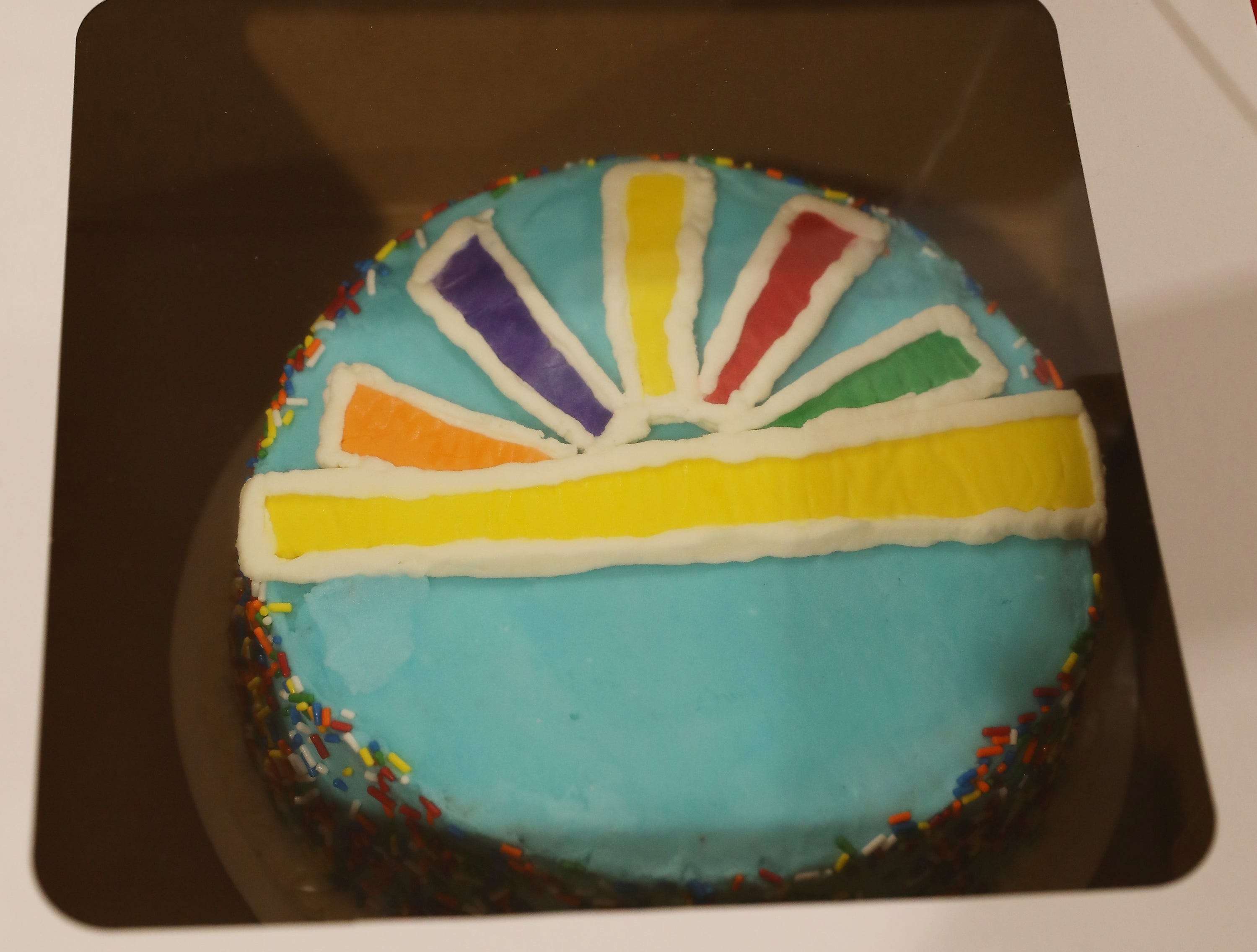 1:00 P.M. Thursday cake 98 Parents of Children with Disabilities Support Group - kids' weighted blanket, cover, essential oils and diffuser; $150