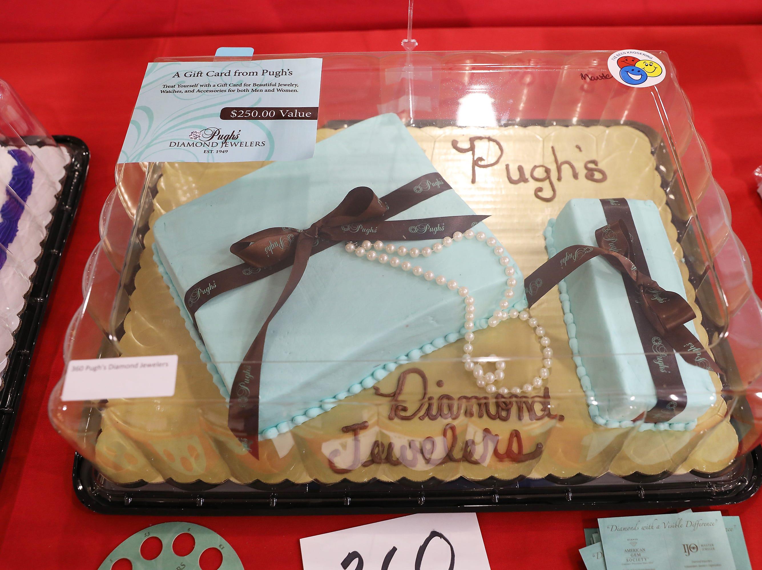 3:30 P.M. Friday cake 360 Pugh's Diamond Jewelers - $250 Pugh's gift card