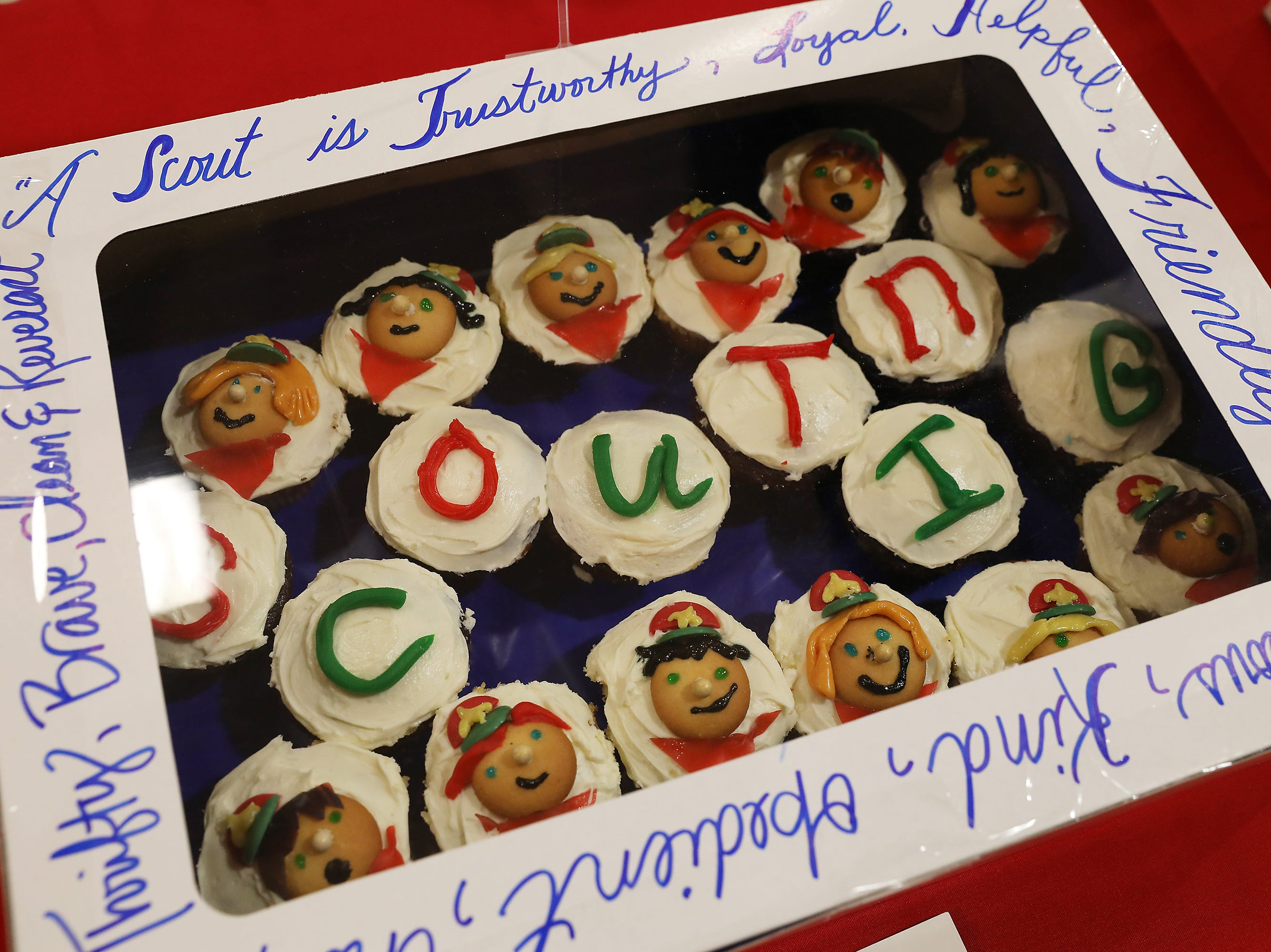 8:30 A.M. Friday cake 218 Boy Scout Troop 128 - $50 Tom's Ice Cream gift card