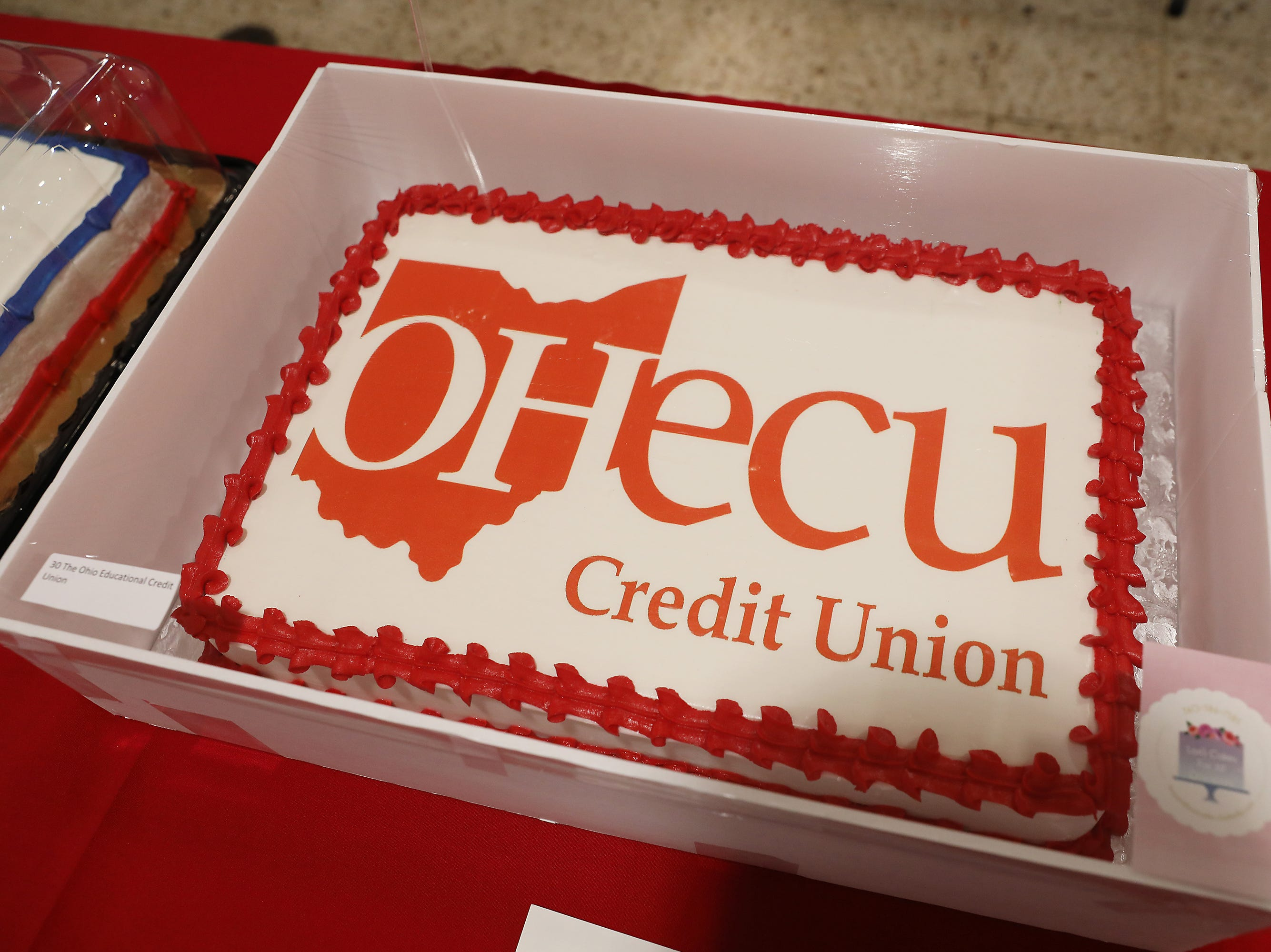 9:15 A.M. Thursday cake 30 The Ohio Educational Credit Union - $25 gift cards to Starbucks, Donald's Donuts, Tom's Ice Cream