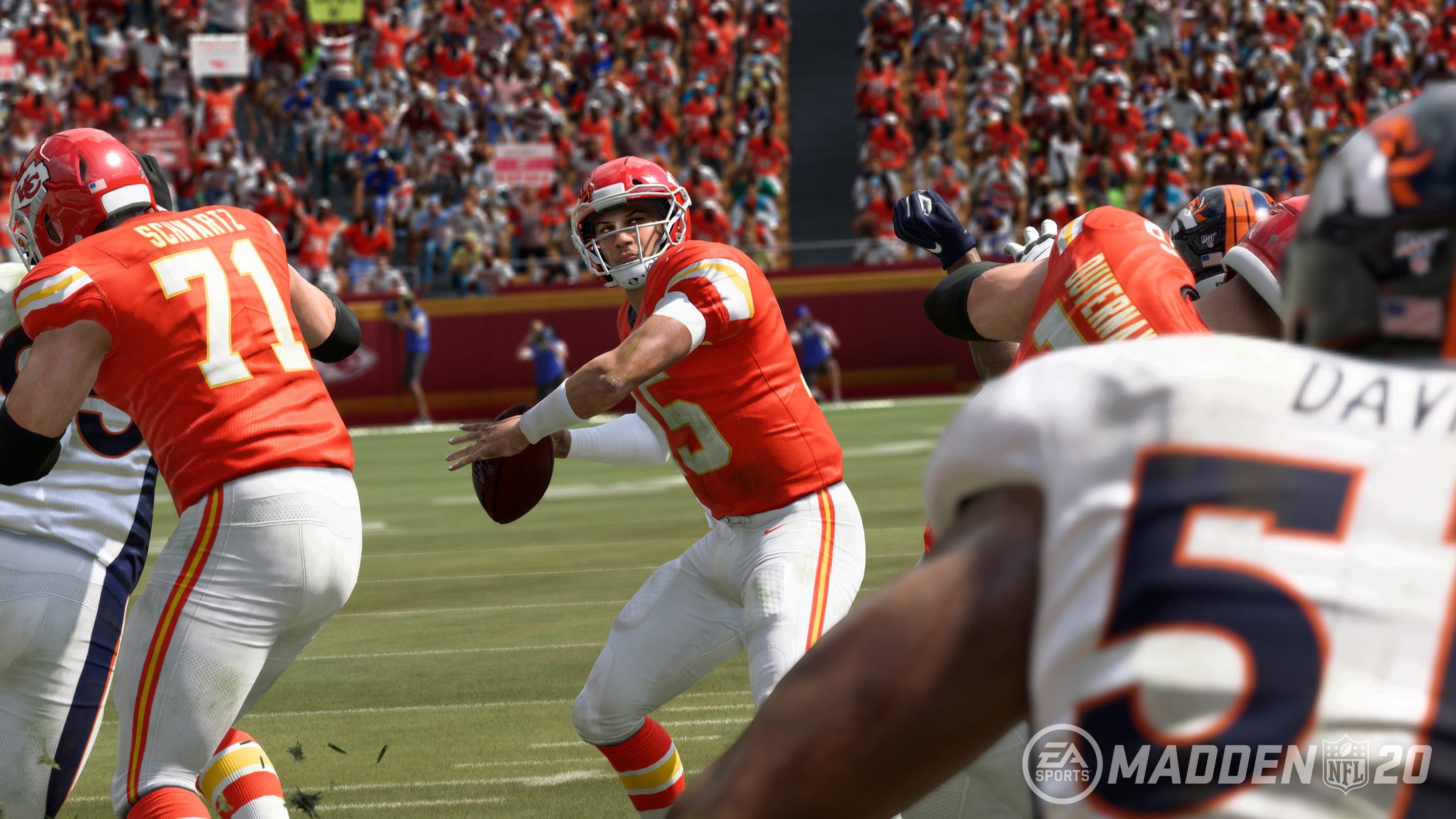 'Madden NFL' cover athlete Patrick Mahomes wants to mark in game with no-look passes