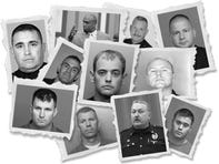 Some of the more than 30,000 law enforcement officers who have lost their state certification.