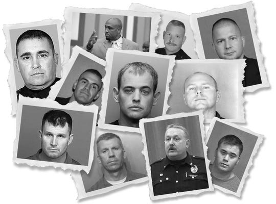 USA TODAY amassed records of police accused of misconduct.