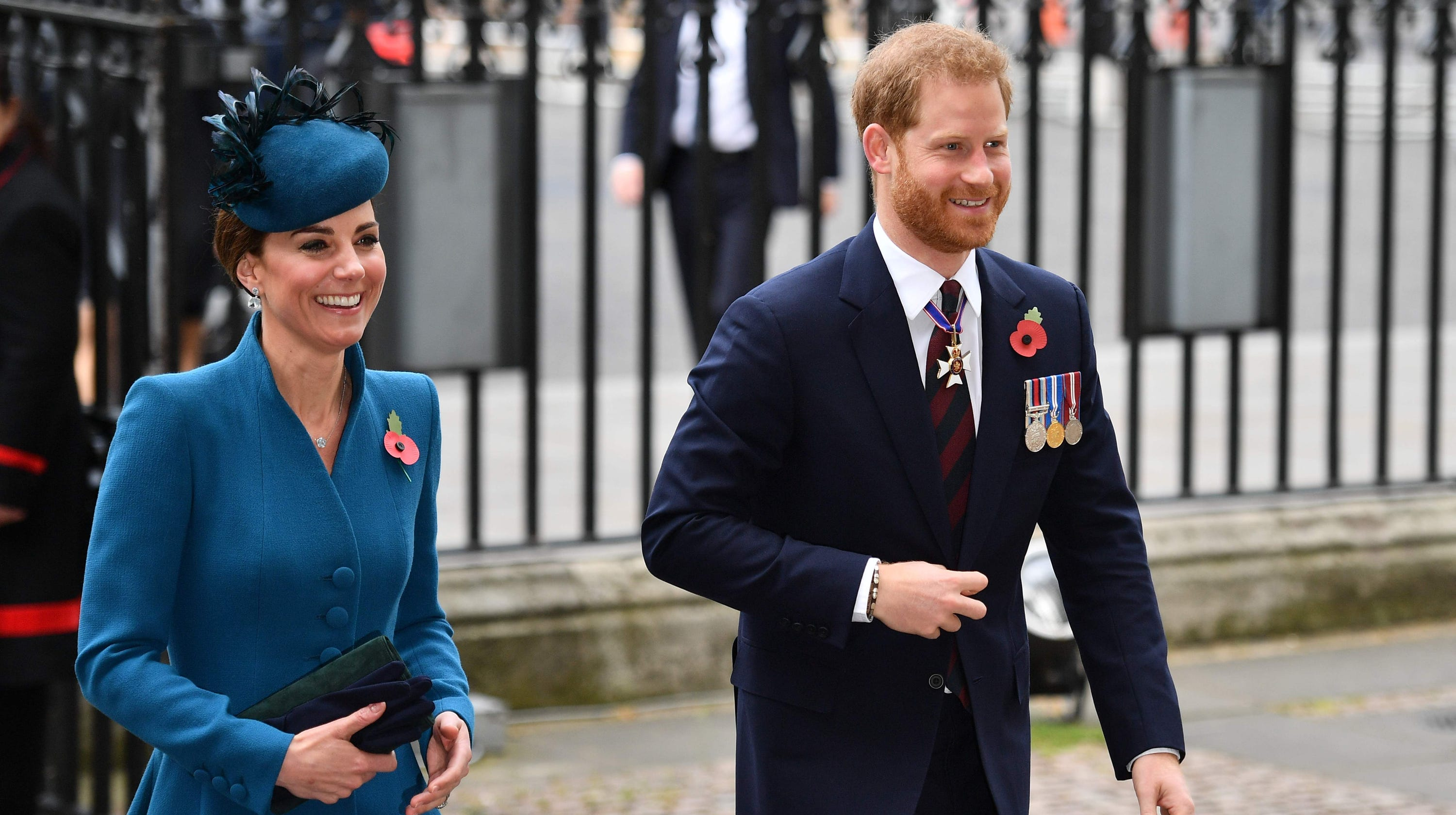 a8cd41198a8df What feud  Duchess Kate joins Prince Harry at church service