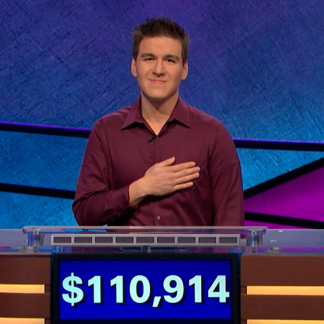 Paul Daugherty: Jeopardy! champ James Holzhauer is what greatness is all about