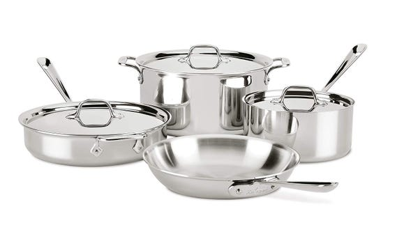 Get up to 70% off select All-Clad cookware right now and start building the collection of your dreams.