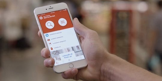 Target's app allows you to check store inventory and scan prices.
