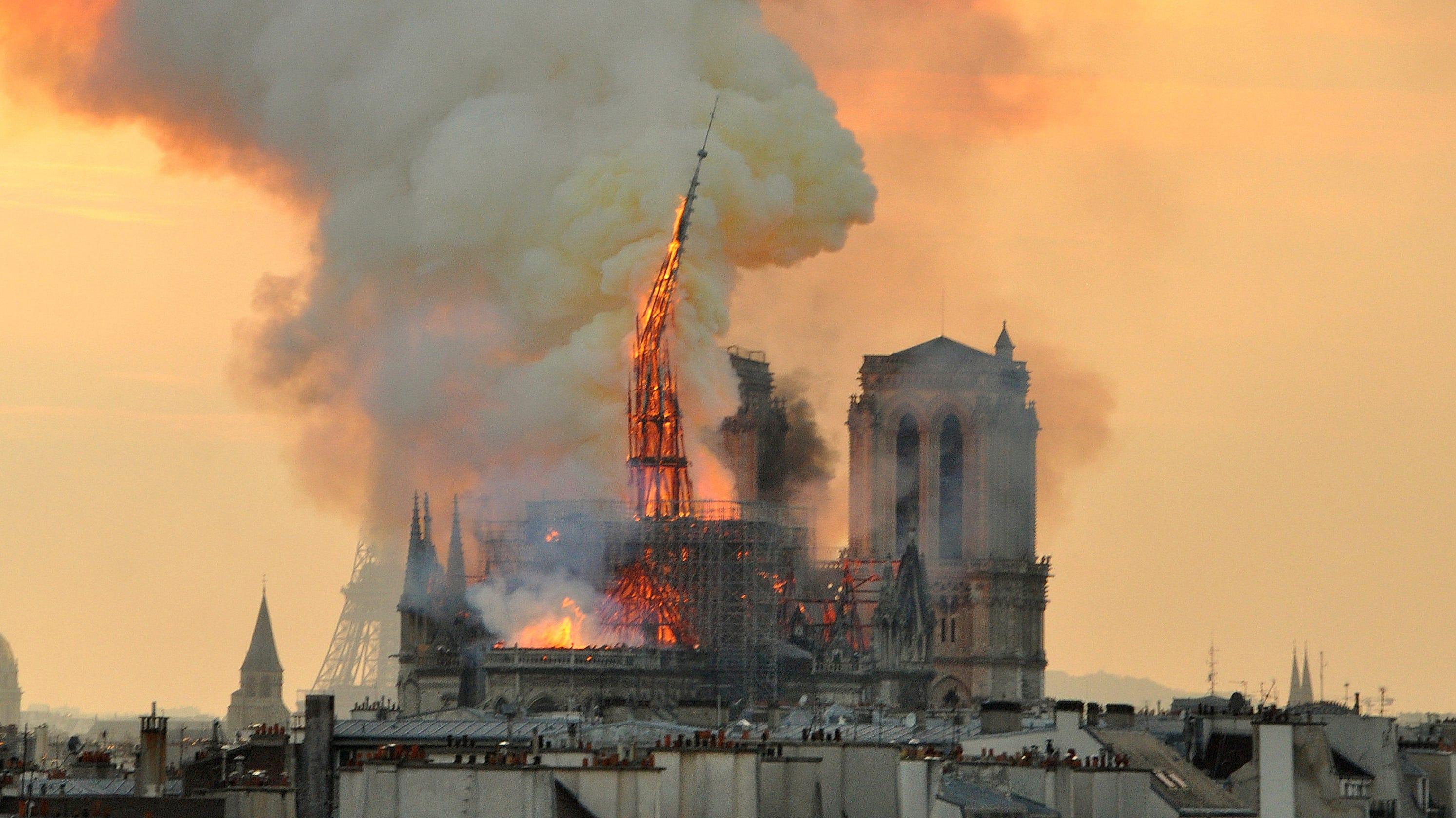 Notre Dame Brandursache