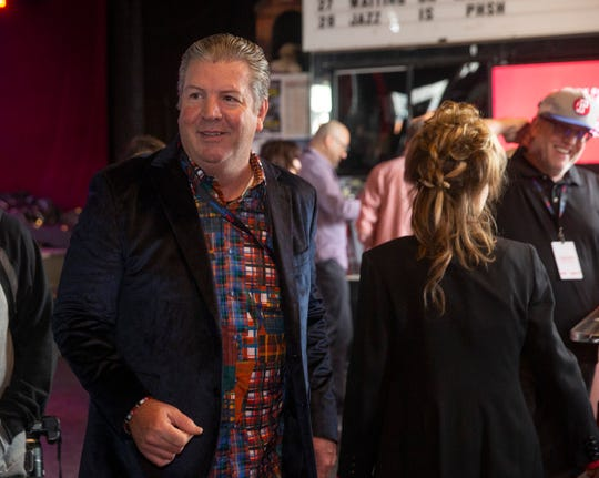 Tom Donovan, Regional President, Gannett East Newspaper Group  attends the Asbury Park Music and Film Festival VIP Party at the Wonder Bar in Asbury Park on April 26, 2019.