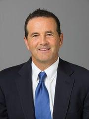 ACU men's tennis coach Hutton Jones