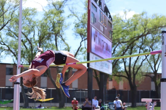 Carri Yarbrough has had success as a high jumper at West Texas A&M, along with twin sister Cayli. While Cayli has jumped higher, it was Carri that qualified for nationals as a freshman.