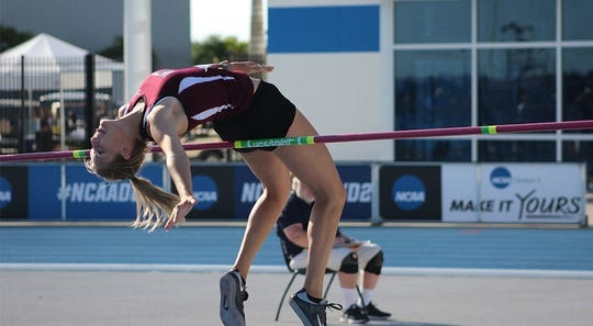 Breckenridge grad Cayli Yarbrough has been a part of two Division II national track championships at West Texas A&M, along with twin sister Carri.
