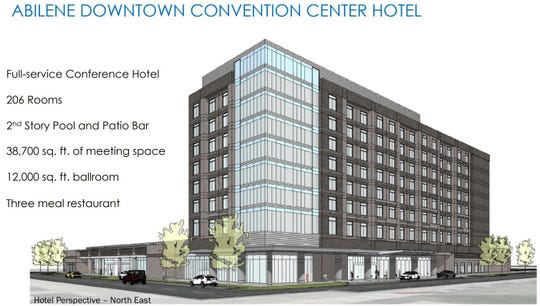 Downtown hotel concept art.