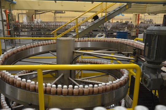 Prairie Farms invested $29 million in its Battle Creek plant to produce a bottled milk product with an extended shelf life.