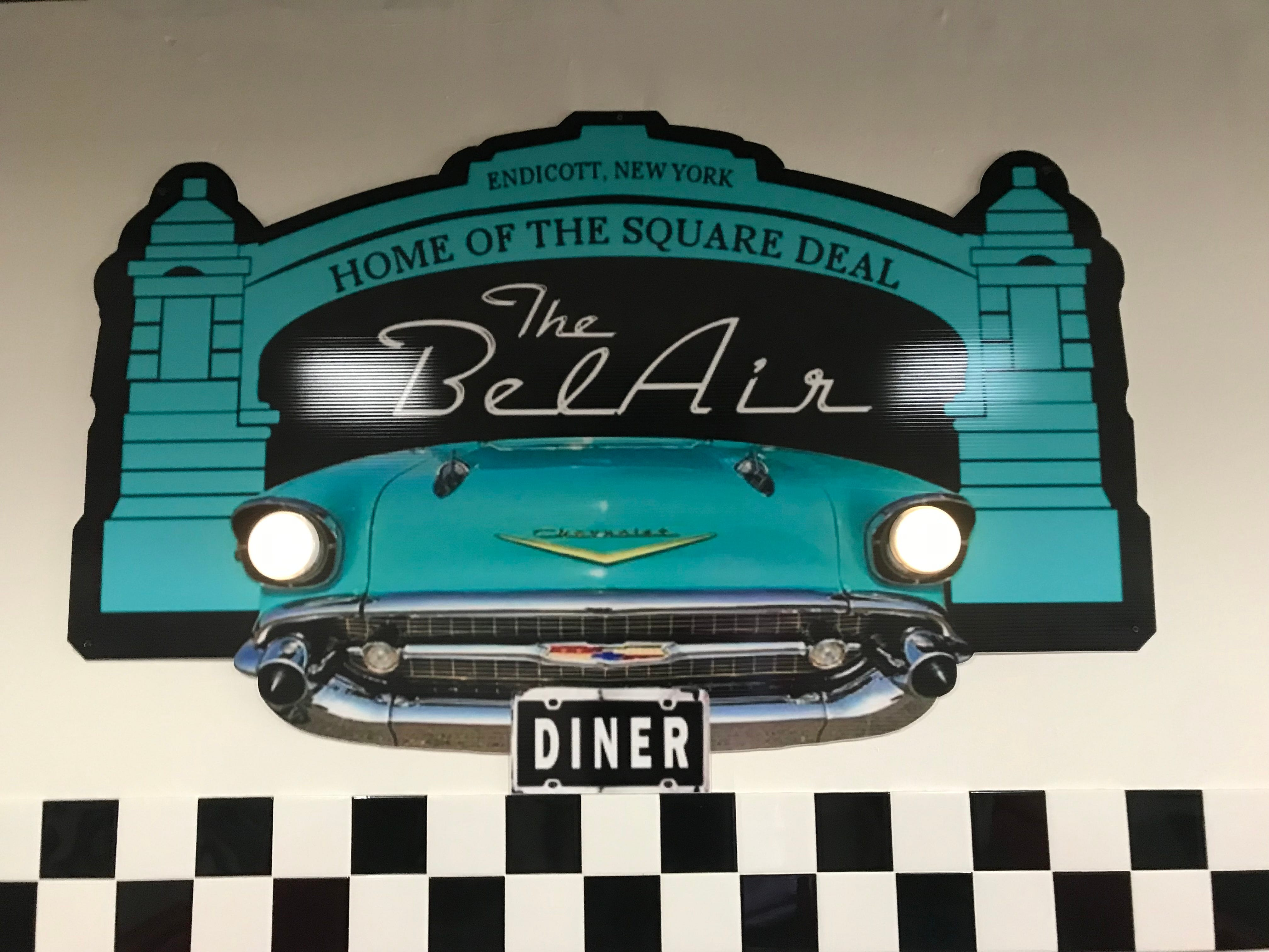 The BelAir BBQ Diner is located on 9 Washington Avenue in Endicott.