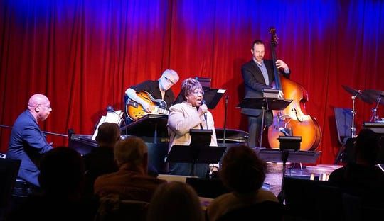 On select Mondays, jazz sessions are held at the Schorr Family Firehouse Stage in Johnson City.