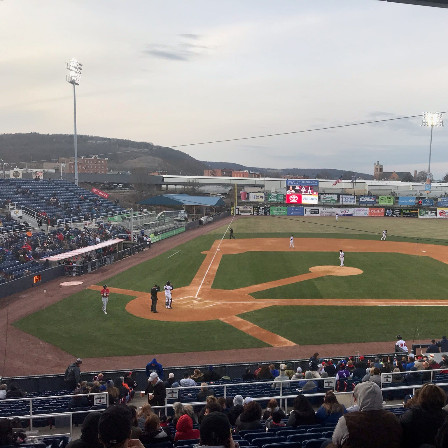 Binghamton Rumble Ponies no-hit at NYSEG Stadium. How rare was it?