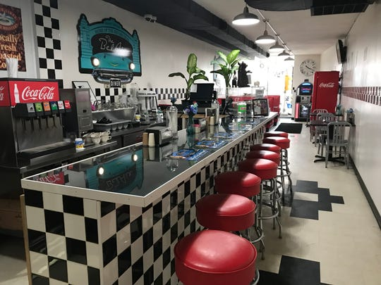 The BelAir BBQ Diner in Endicott has a vintage theme.