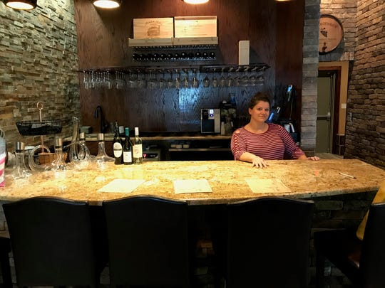 Jillian Jeffry manages The Wine Cellar, which opened April 20 in Suntree.