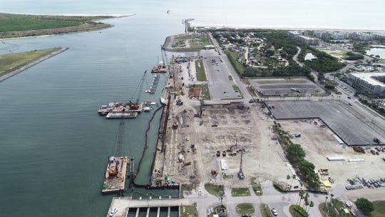Work is underway to build Cruise Terminal 3 at Port Canaveral.
