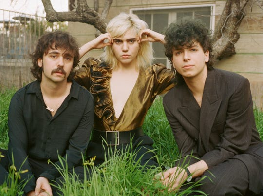 New York rockers Sunflower Bean play on the final day of this year's Waking Windows festival, Sunday, May 5.