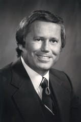 Ed Hicks  in 1978, the first year he sponsored the Corpus Christi Beach to Bay Relay Marathon.